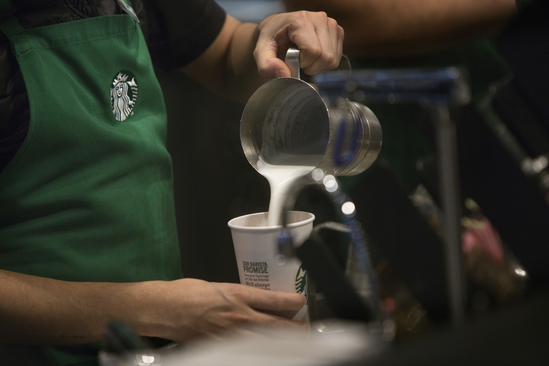 Inside A Starbucks Corp. Location Ahead Of Earnings Figures