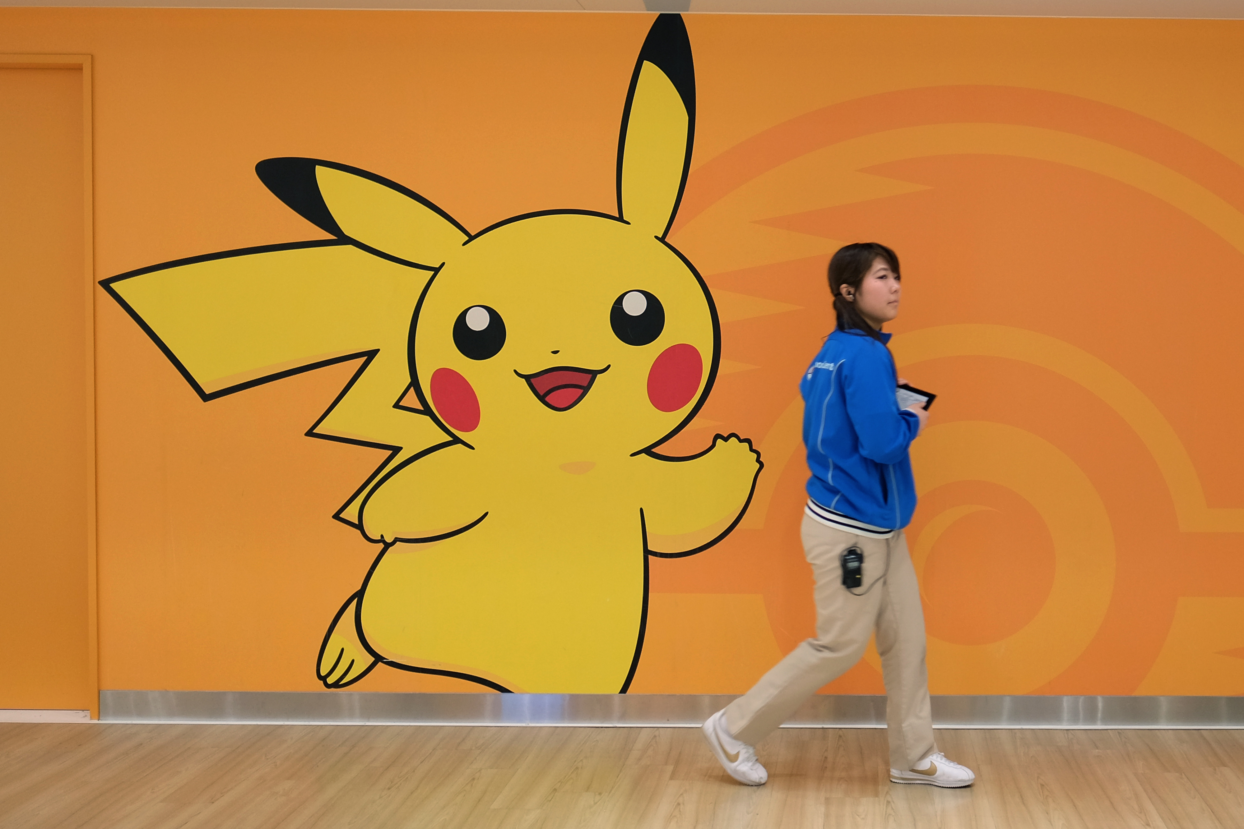 Inside A Pokemon Store Ahead Of The Character's 20th Anniversary