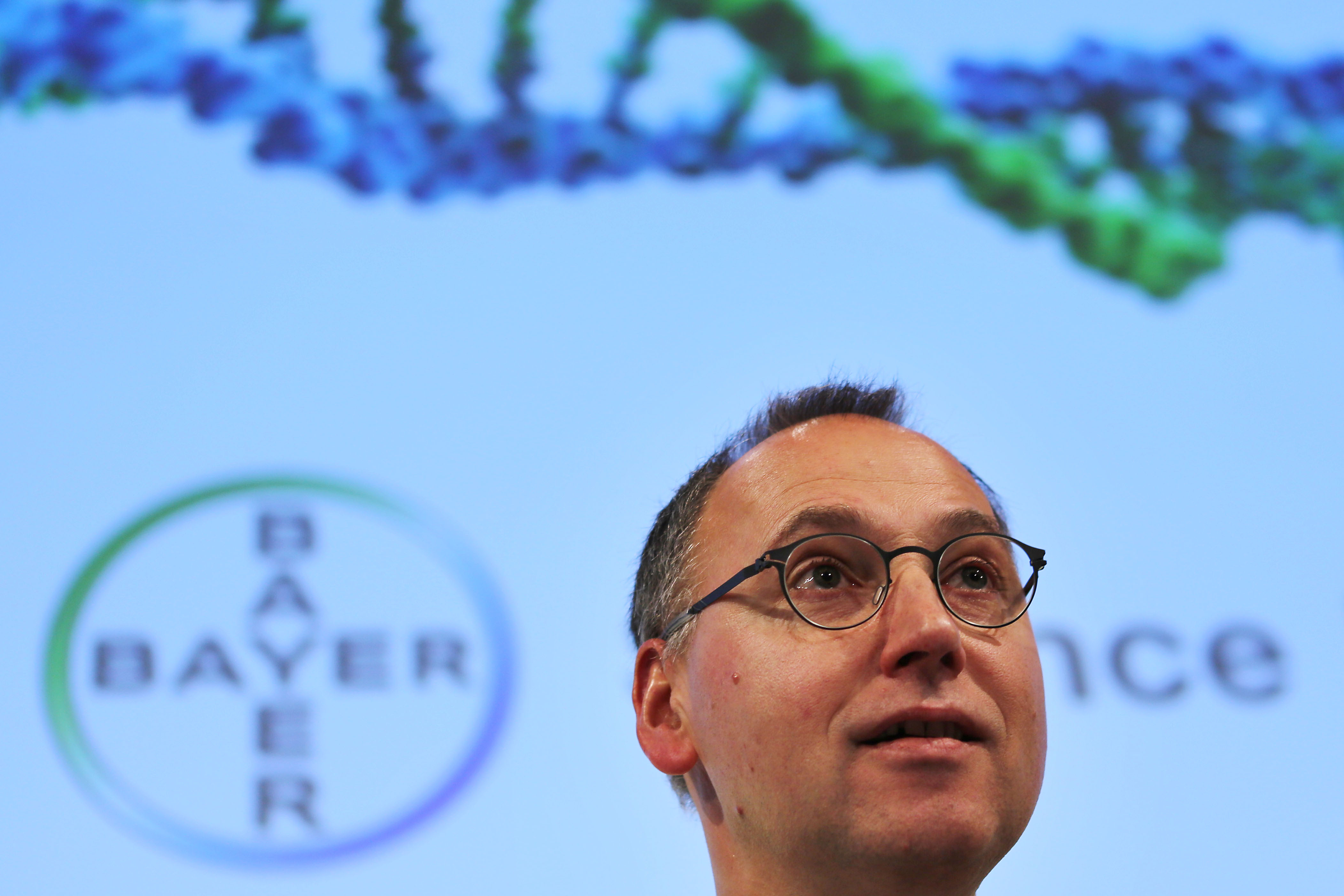 GERMANY-CHEMICALS-PHARMACEUTICAL-EARNINGS-MANAGEMENT-BAYER