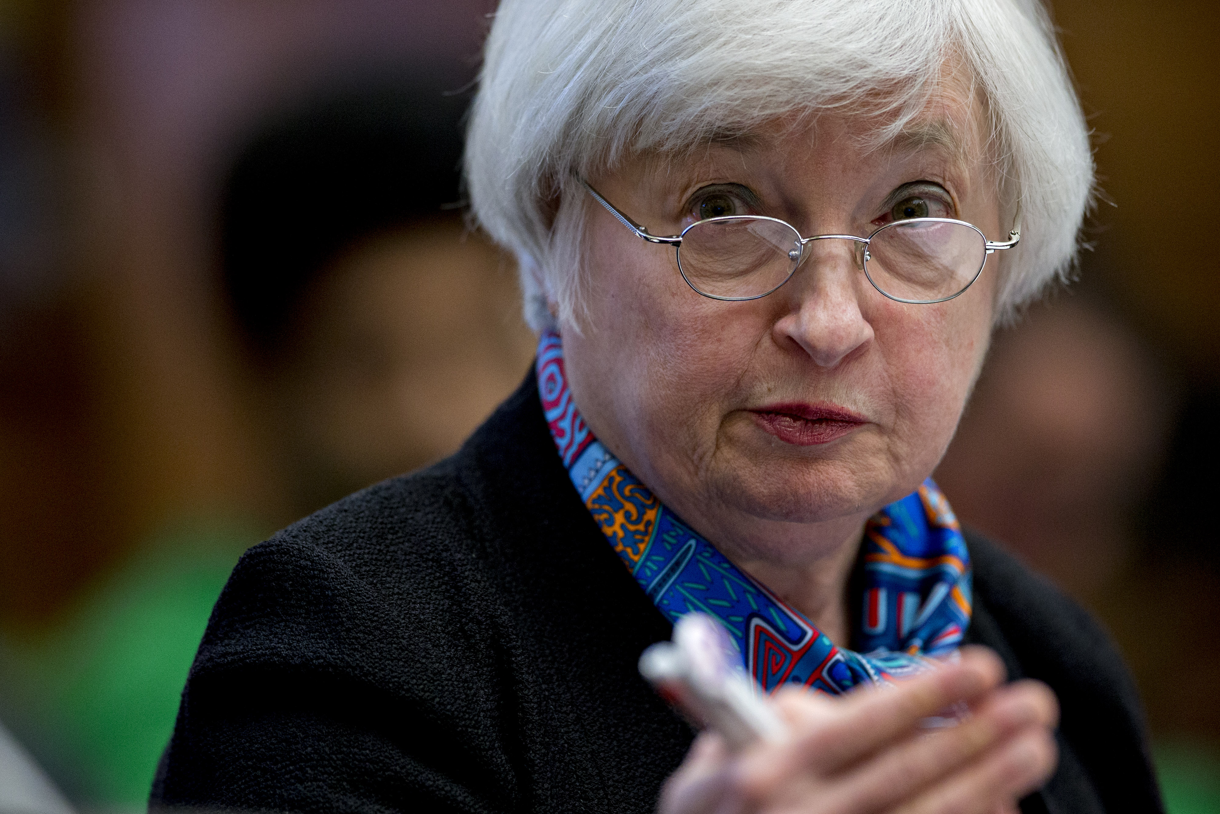 Fed Chair Janet Yellen Testifies Before The House Financial Services Committee
