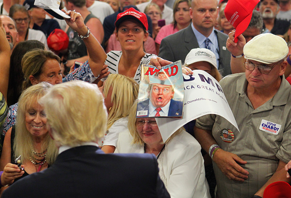 Donald Trump Campaigns in Cincinnati