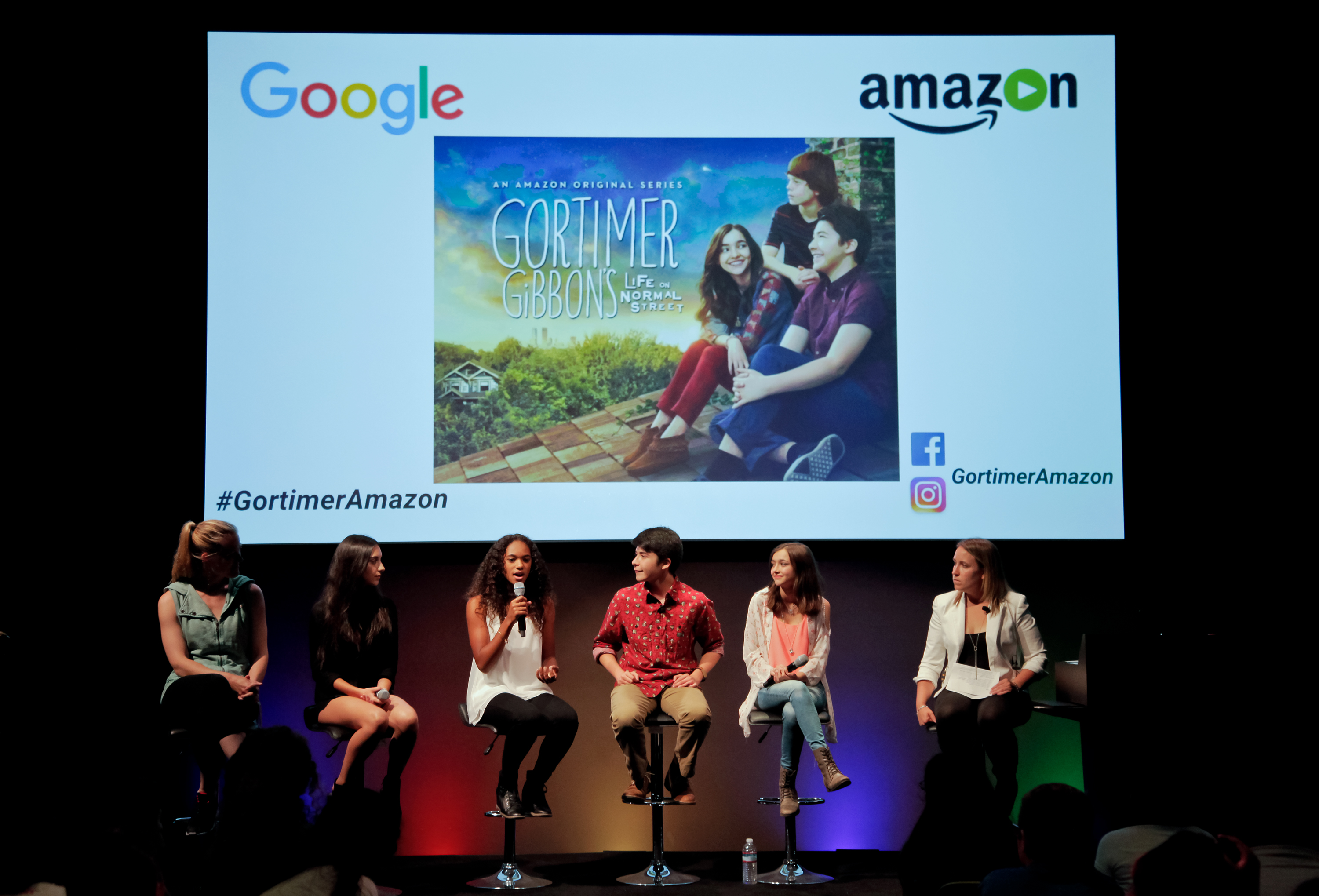 """Amazon And Google Team Up For STEM Panel With Cast Of """"Gortimer Gibbon's Life On Normal Street"""""""
