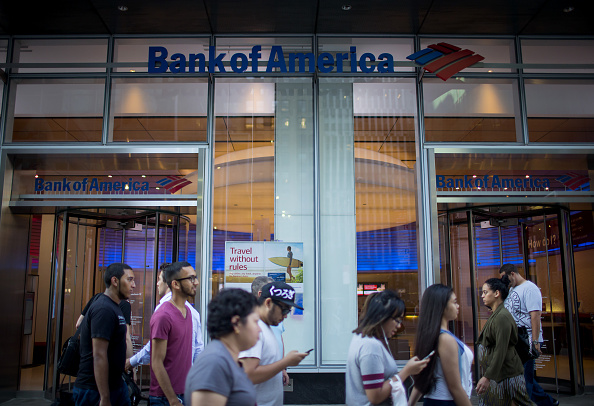 A Bank Of America Corp. Branch Ahead Of Earnings Figures