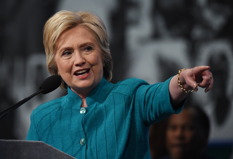 Hillary Clinton Addresses AFSCME International Convention