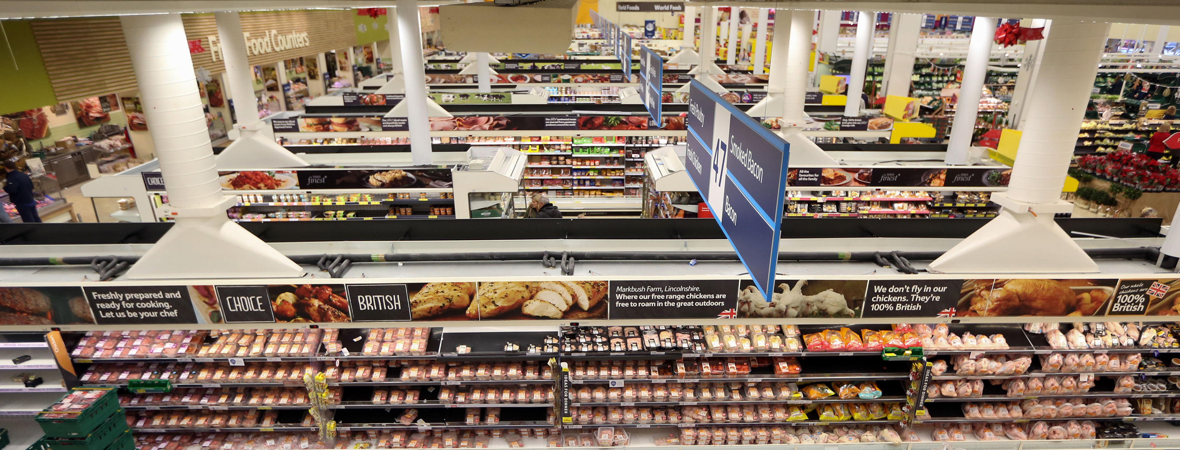 Inside A Tesco Plc Supermarket As Shoppers Prepare For Christmas