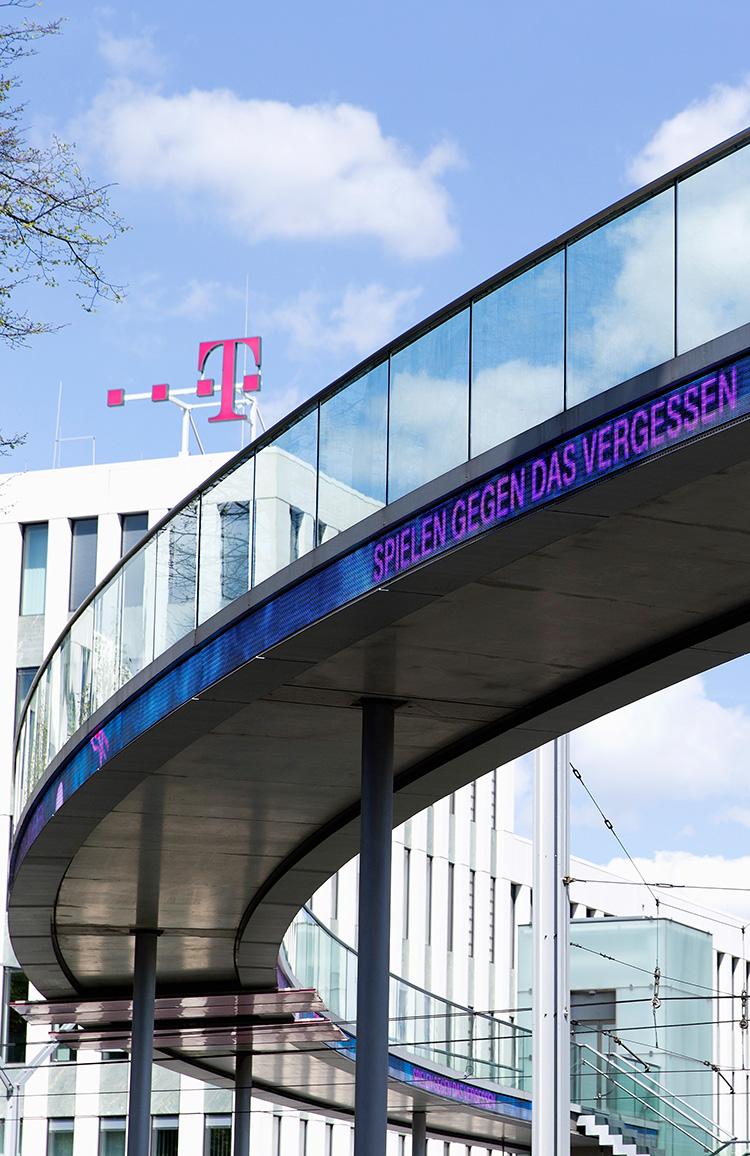 Deutsche Telekom Headquarters In Bonn