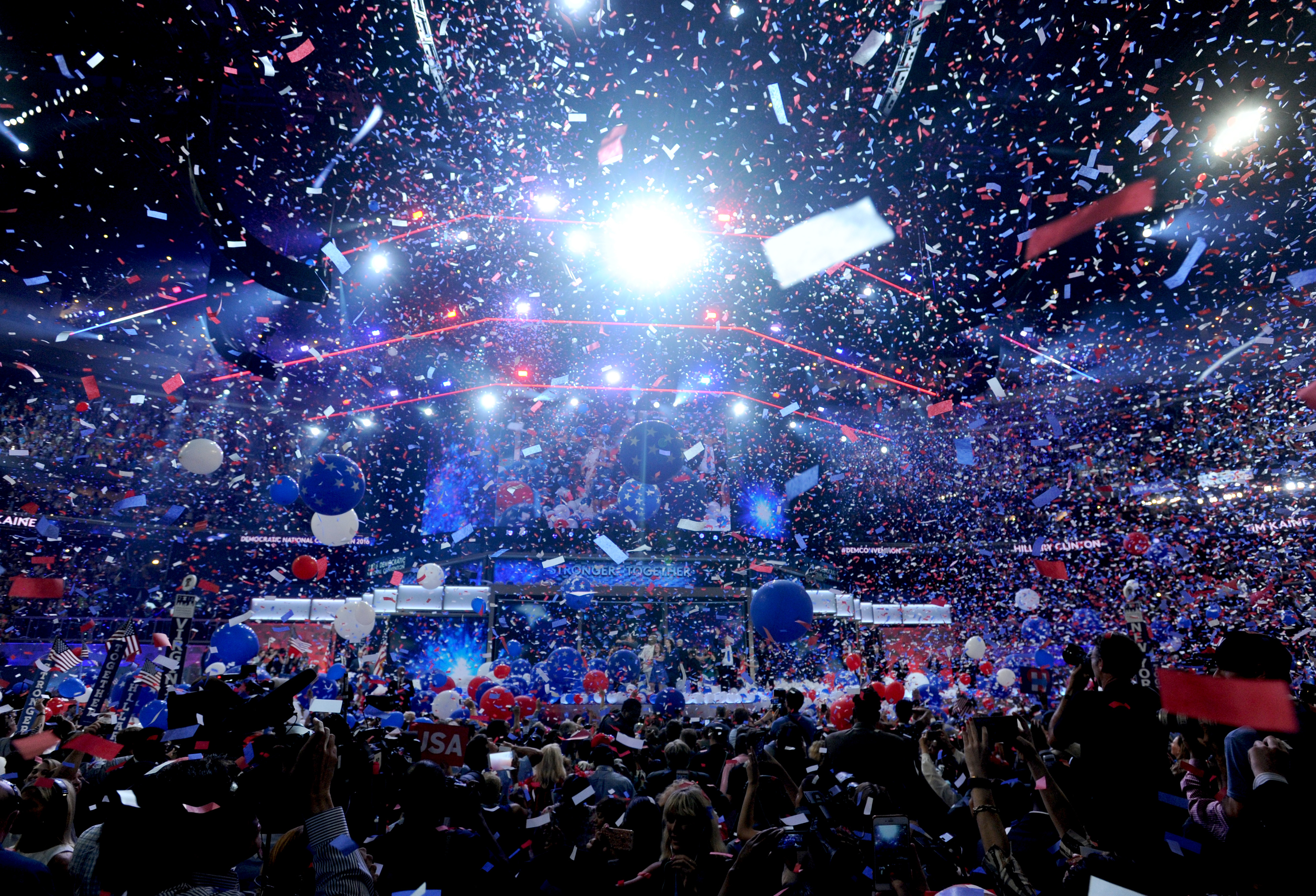 Hillary Clinton Delivers Her Acceptance Speech At DNC - Day Four - Philadelphia