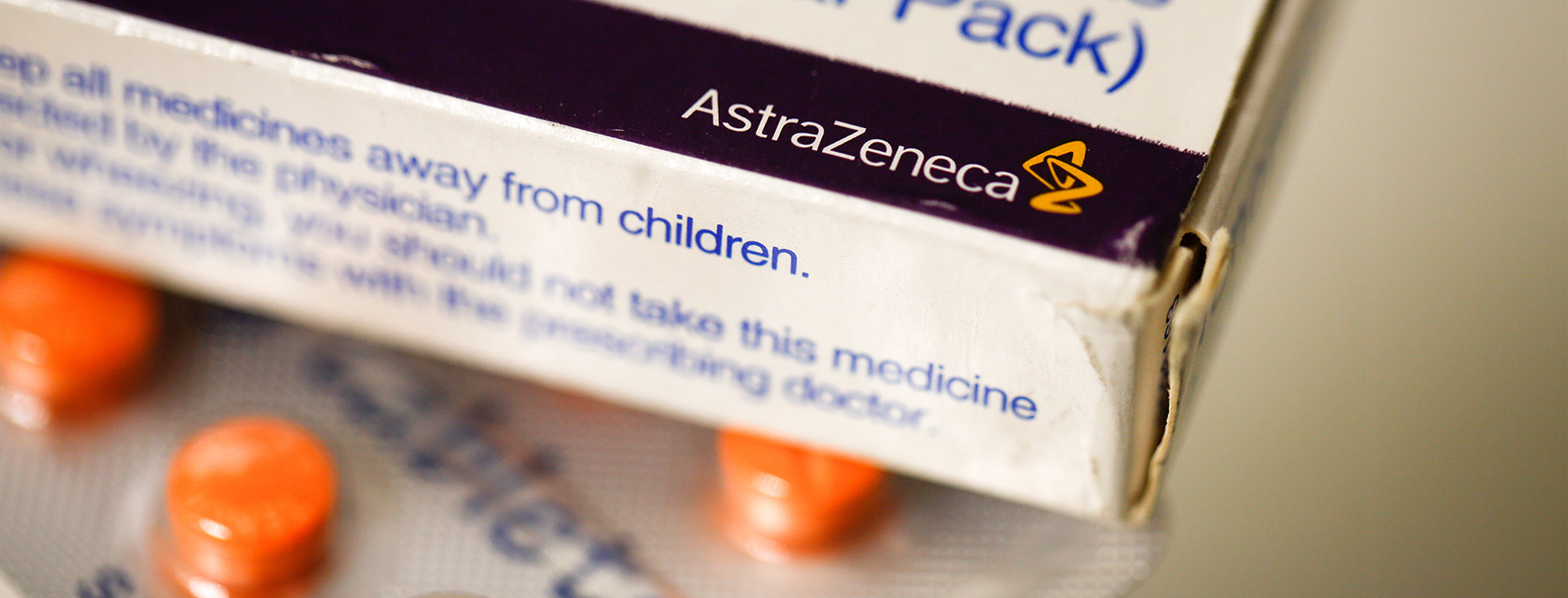 AstraZeneca Tablets At A Pharmacists As Company Explores Deal With Acerta Pharma