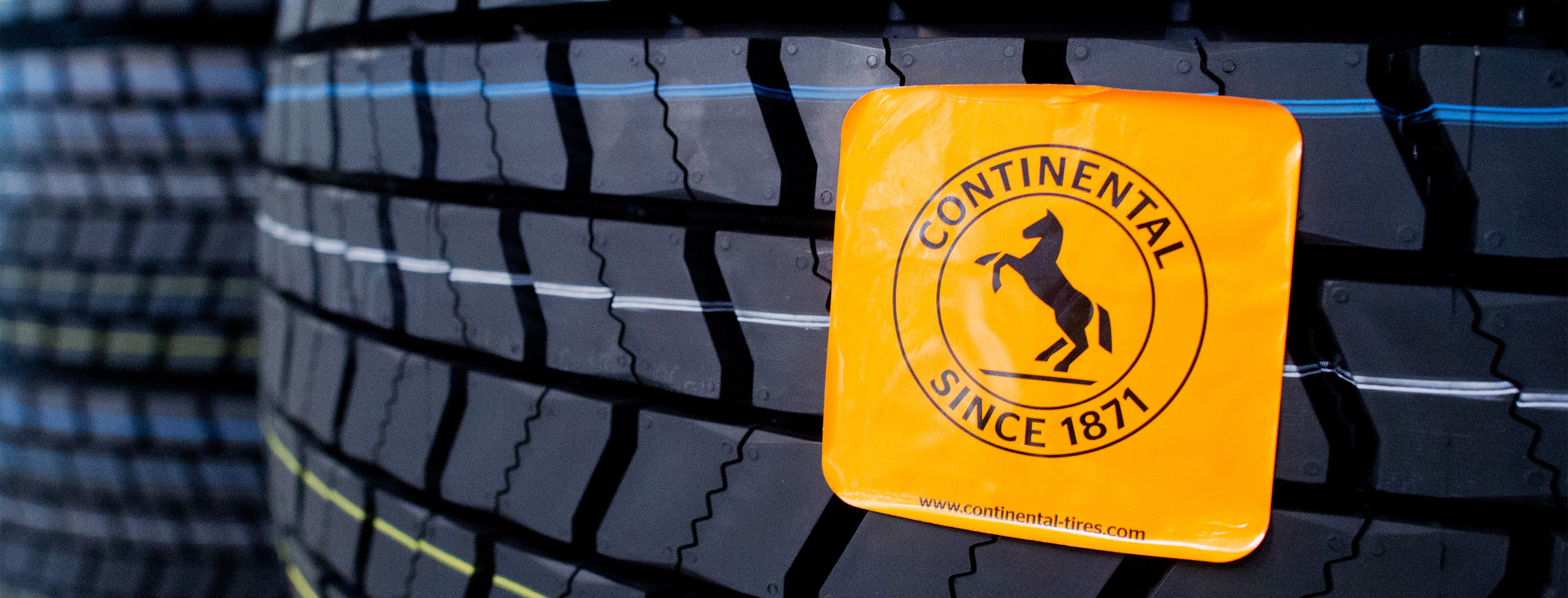 Tire warehouse of Continental