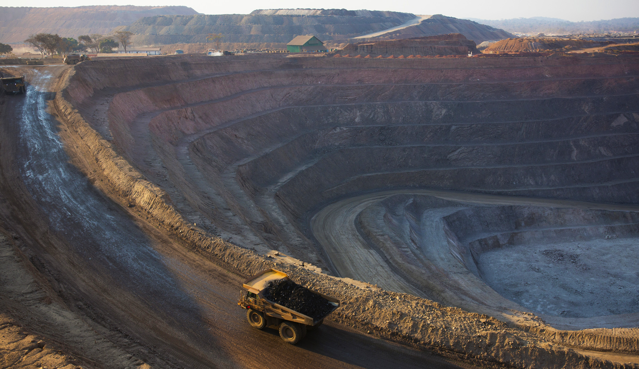 The Glencore-controlled Mutanda open-pit mine in the southeast corner of the Democratic Republic of Congo produces mainly copper.