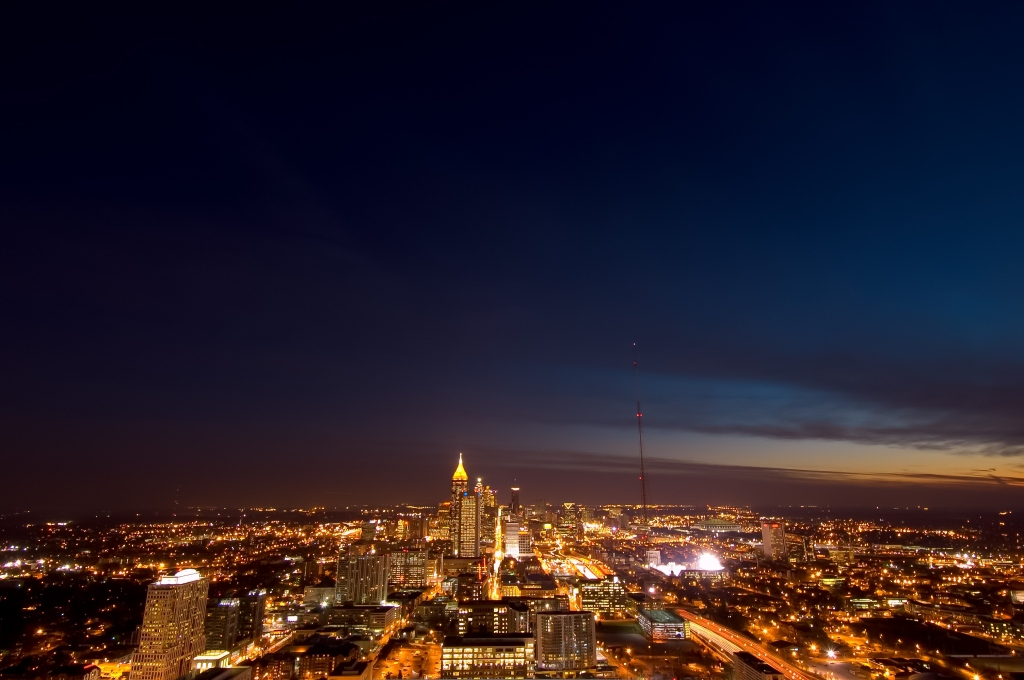Atlanta Skyline from Atlantic Center
