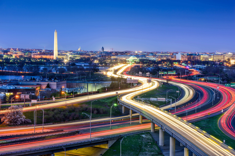 Washington, DC City Skyline