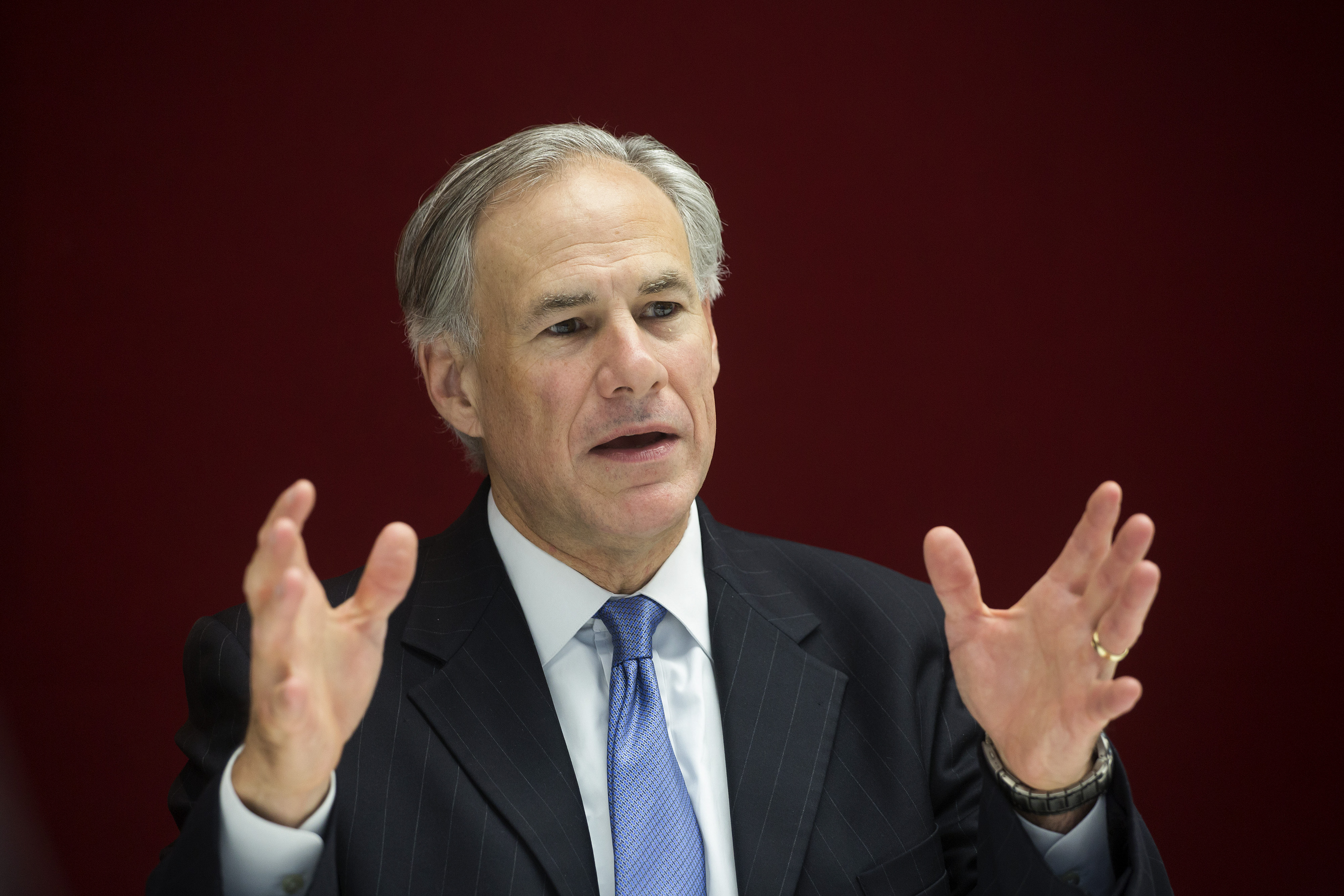 Texas Governor Greg Abbott Interview
