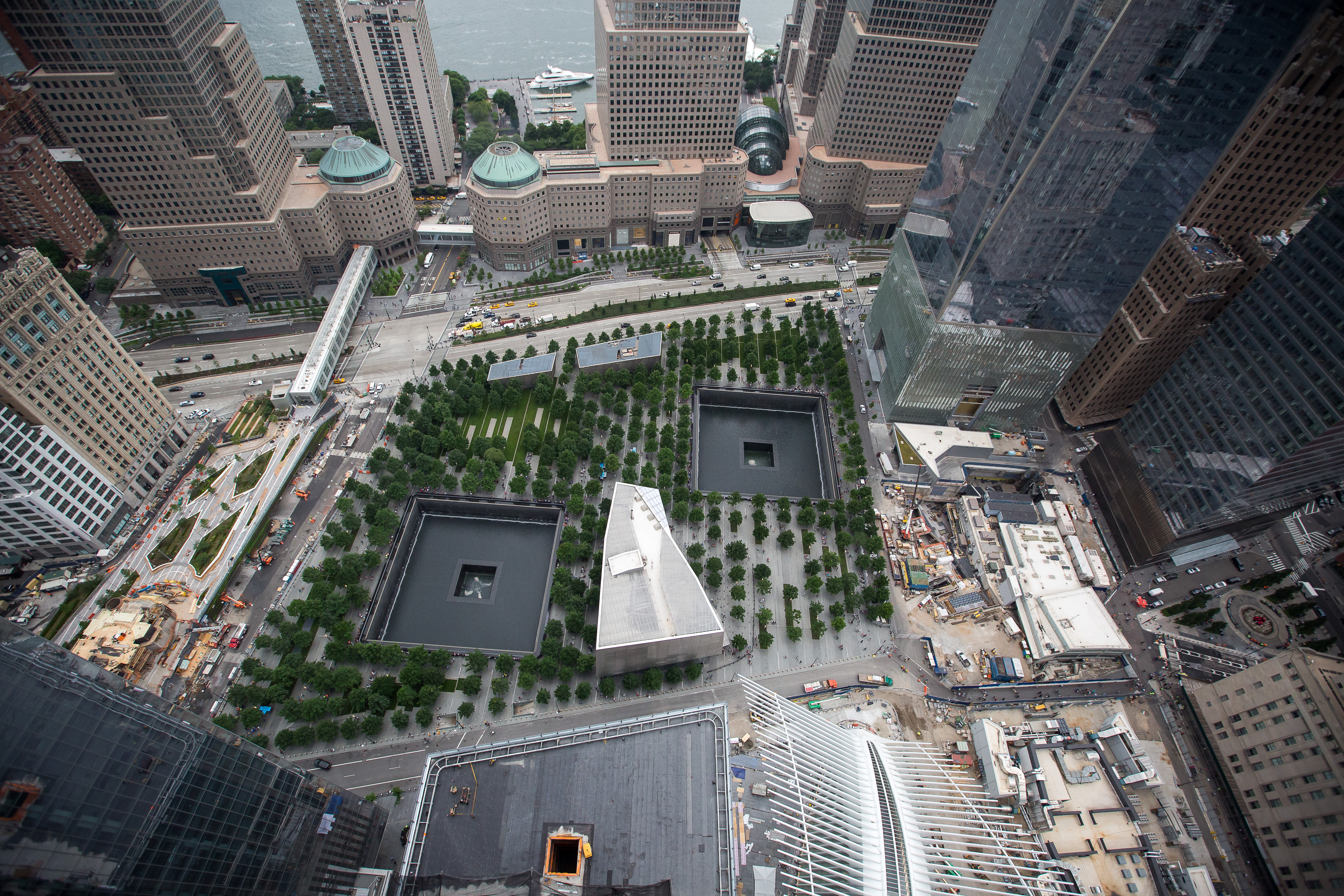 3 World Trade Center Topping Out Ceremony