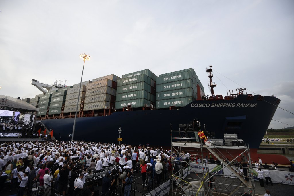 Chinese Ship Runs Into the Panama Canal's New Wall | Fortune