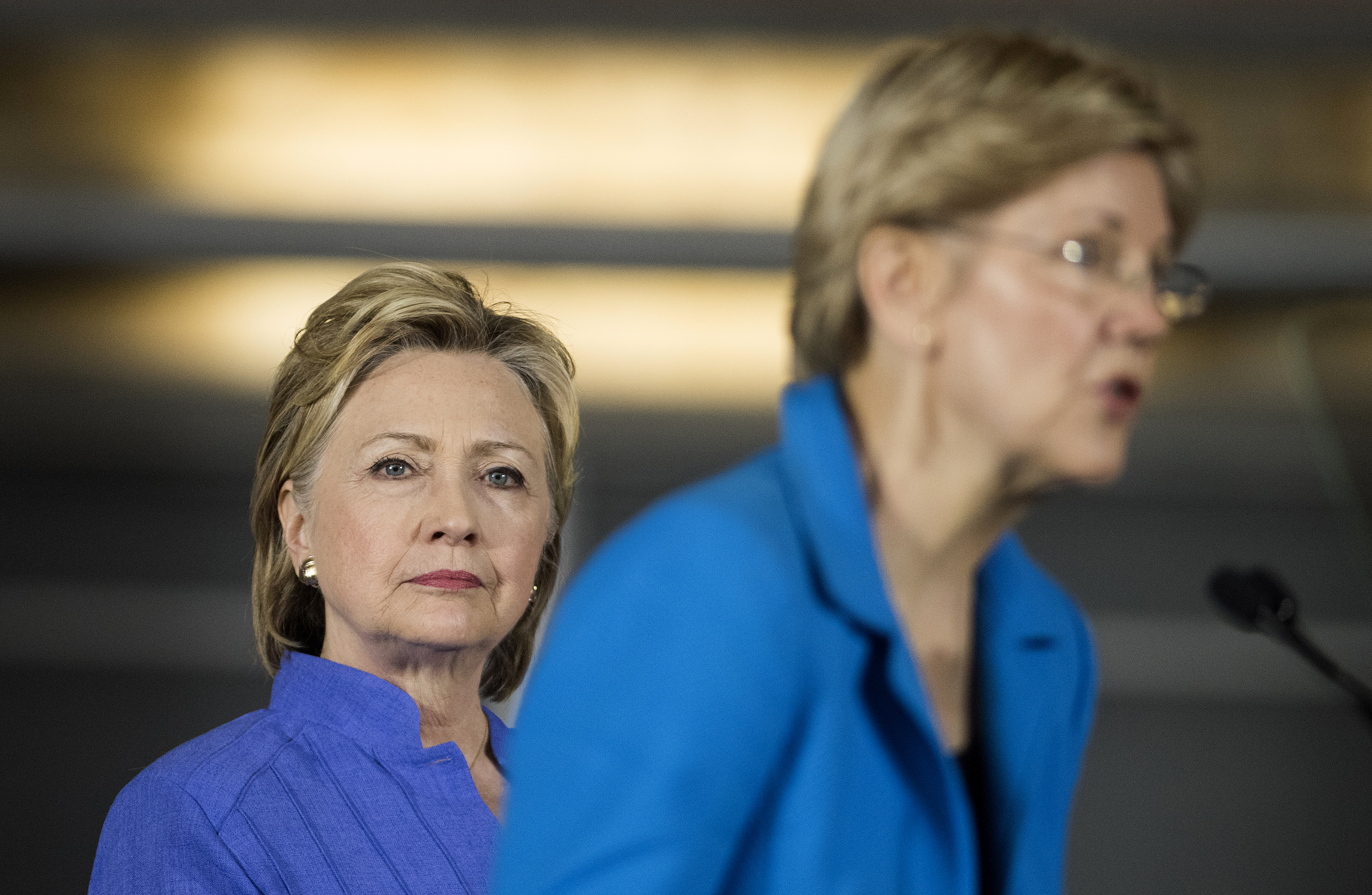 Presumptive Democratic Presidential Nominee Hillary Clinton Campaigns With Elizabeth Warren In Ohio