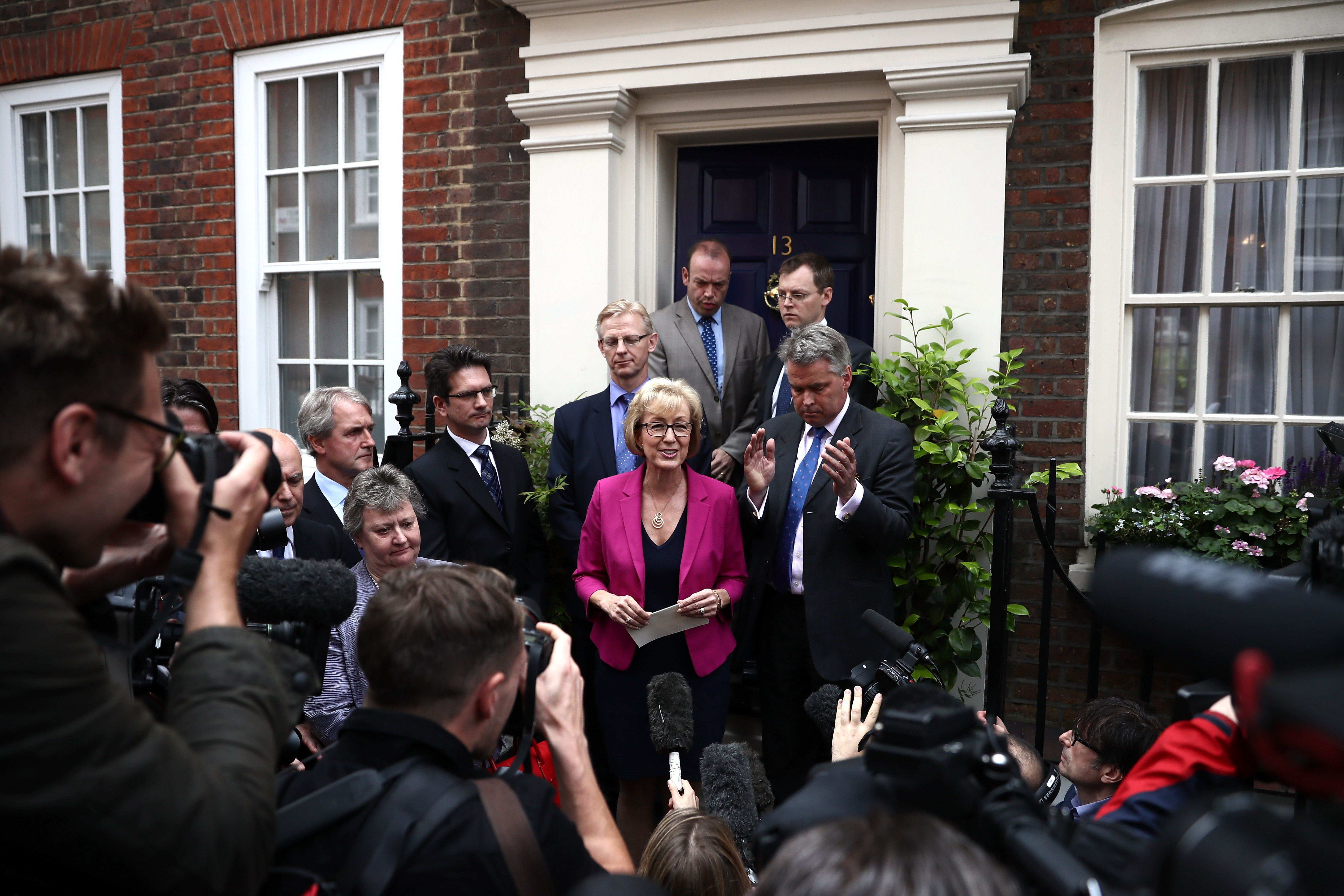 Andrea Leadsom Pulls Out Of The Conservative Leadership Race