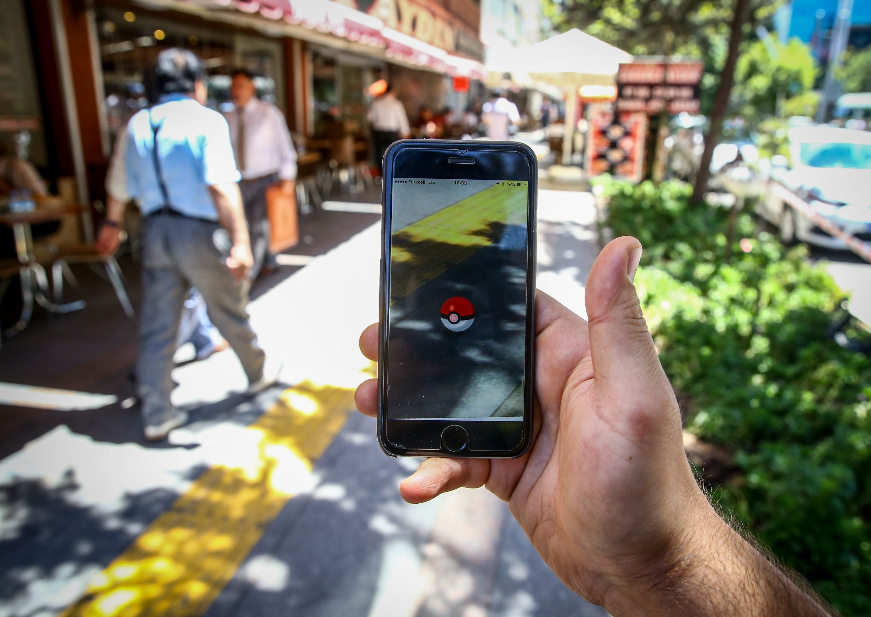 Pokemon GO game in Turkey