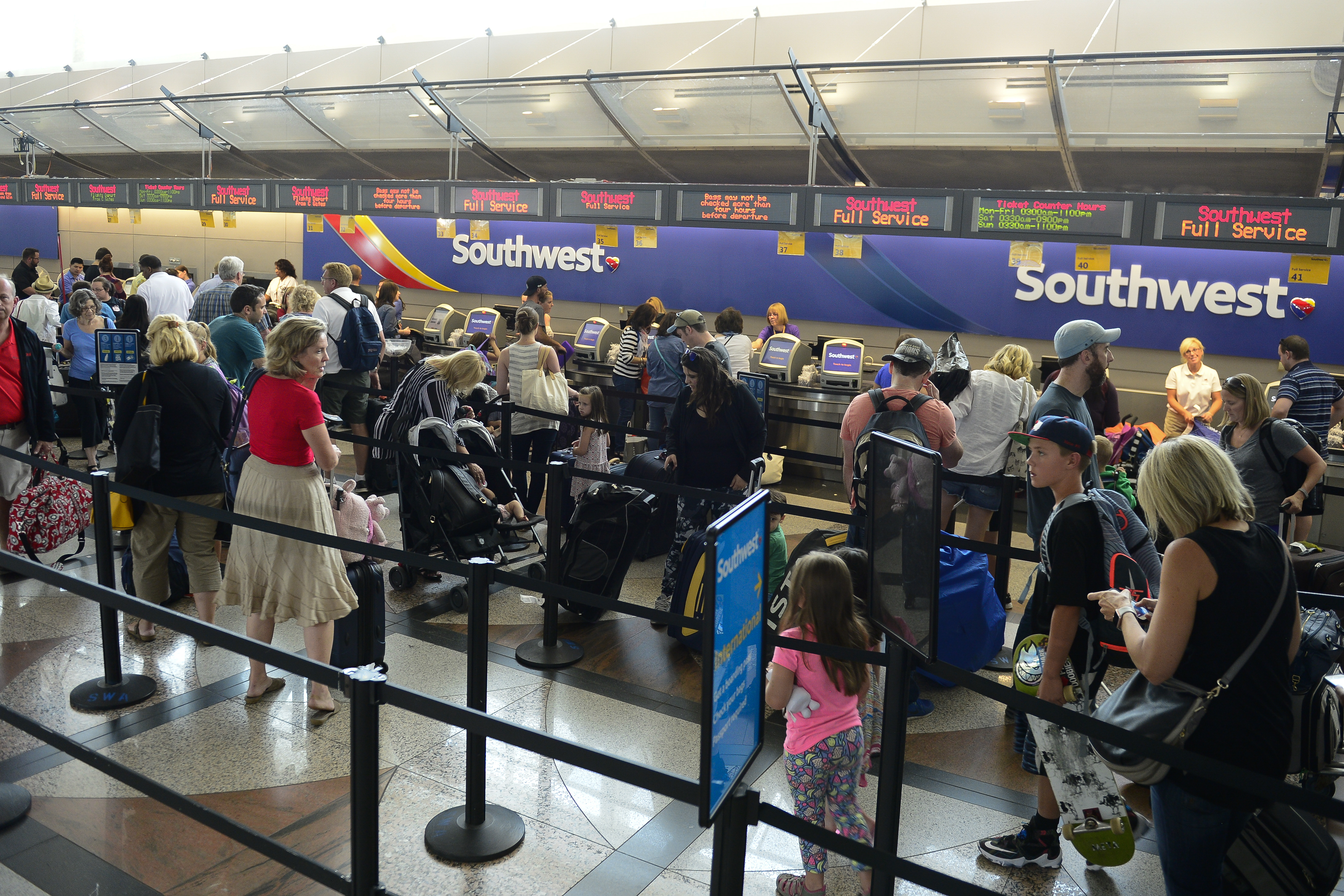 Southwest Airlines computer outage