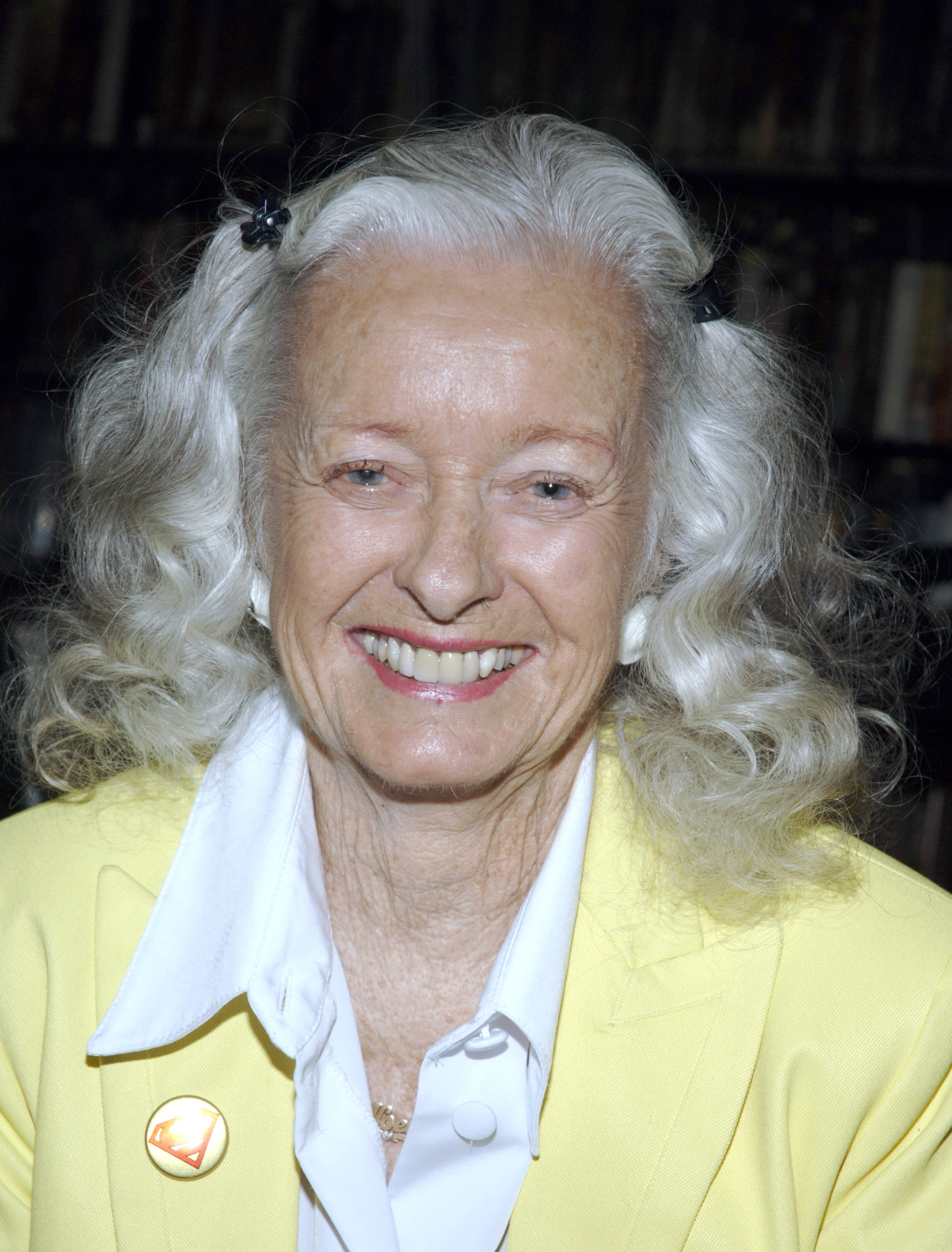 Noel Neill, The Original Lois Lane, Appears At Rocket Video