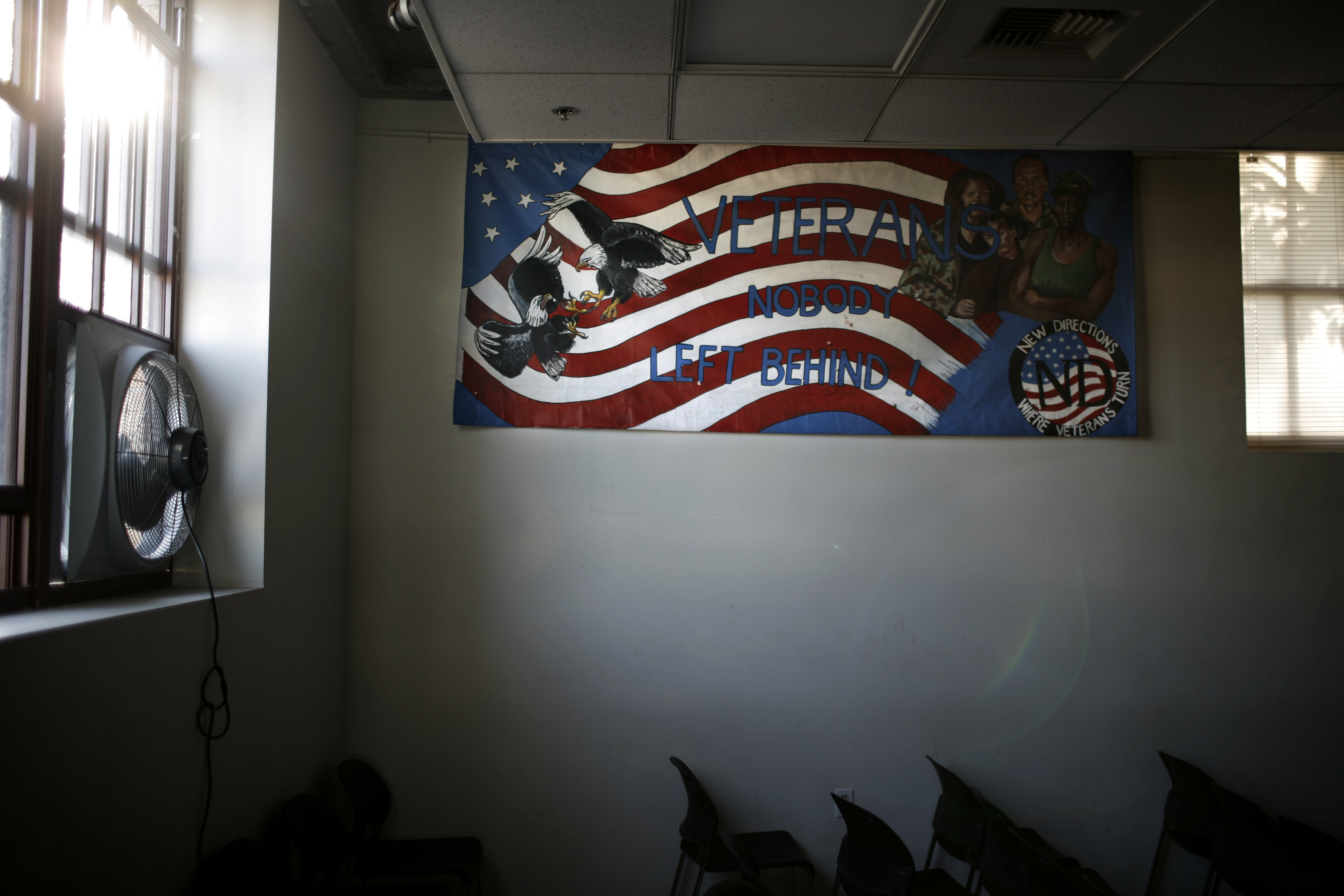 New Directions, a nonprofit substance abuse treatment program for homeless veterans