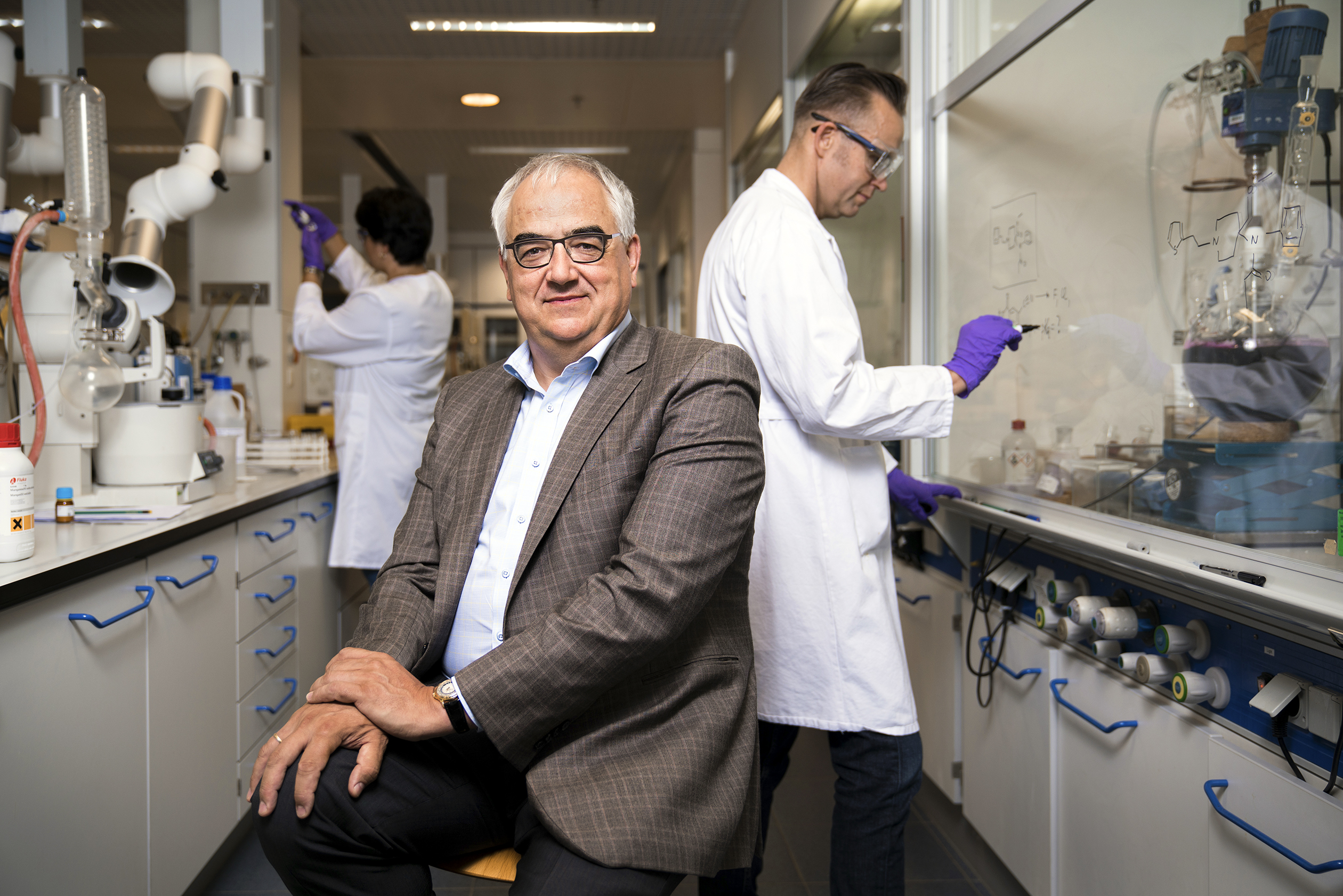 "THE INNOVATOR Dr. Paul Stoffels, J&J's chief scientific officer, photographed at J&J Beerse, Belgium. Stoffels heads up R&D and sets the ""innovation agenda"" across the enterprise."
