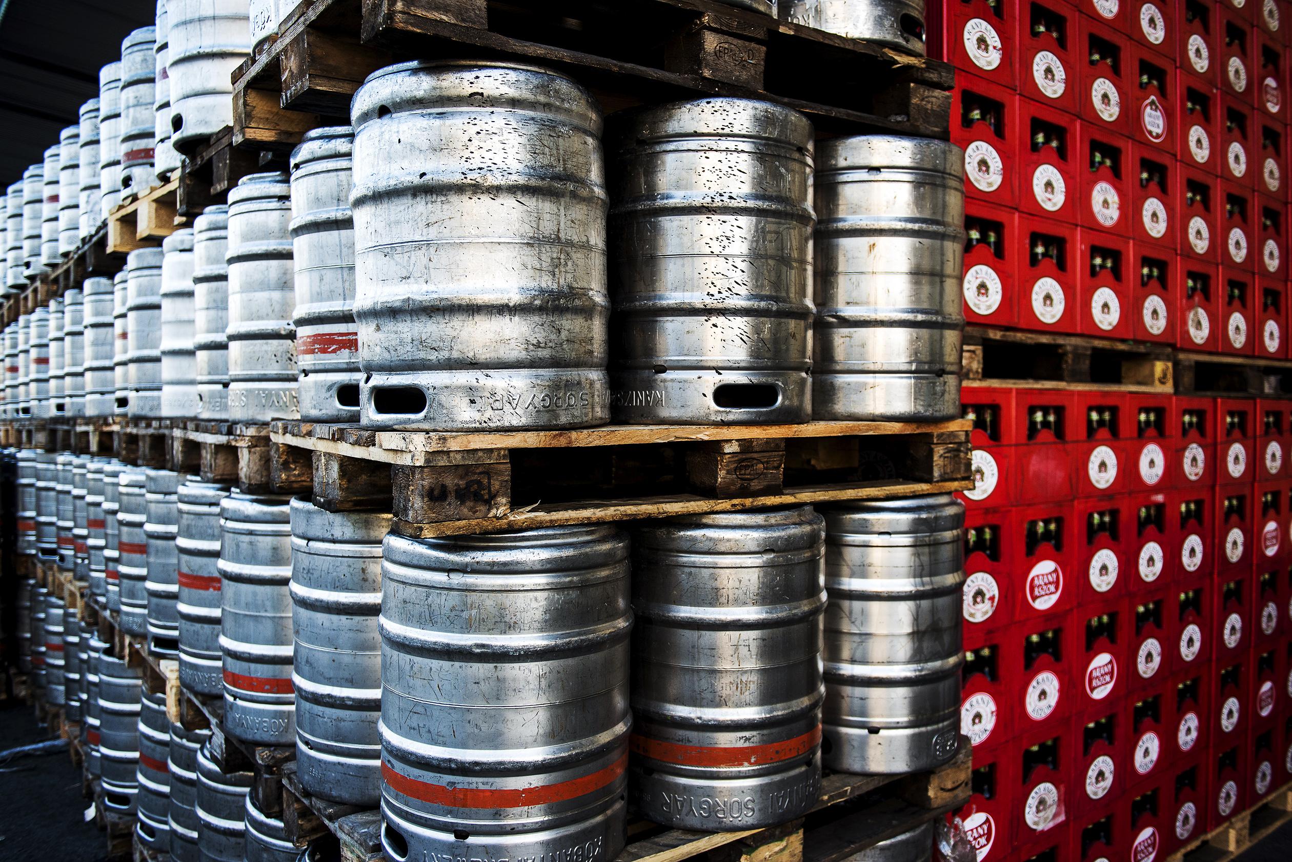 Inside The SABMiller Plc Dreher Brewery As Anheuser-Busch InBev NV Formal Takeover Deadline Extended