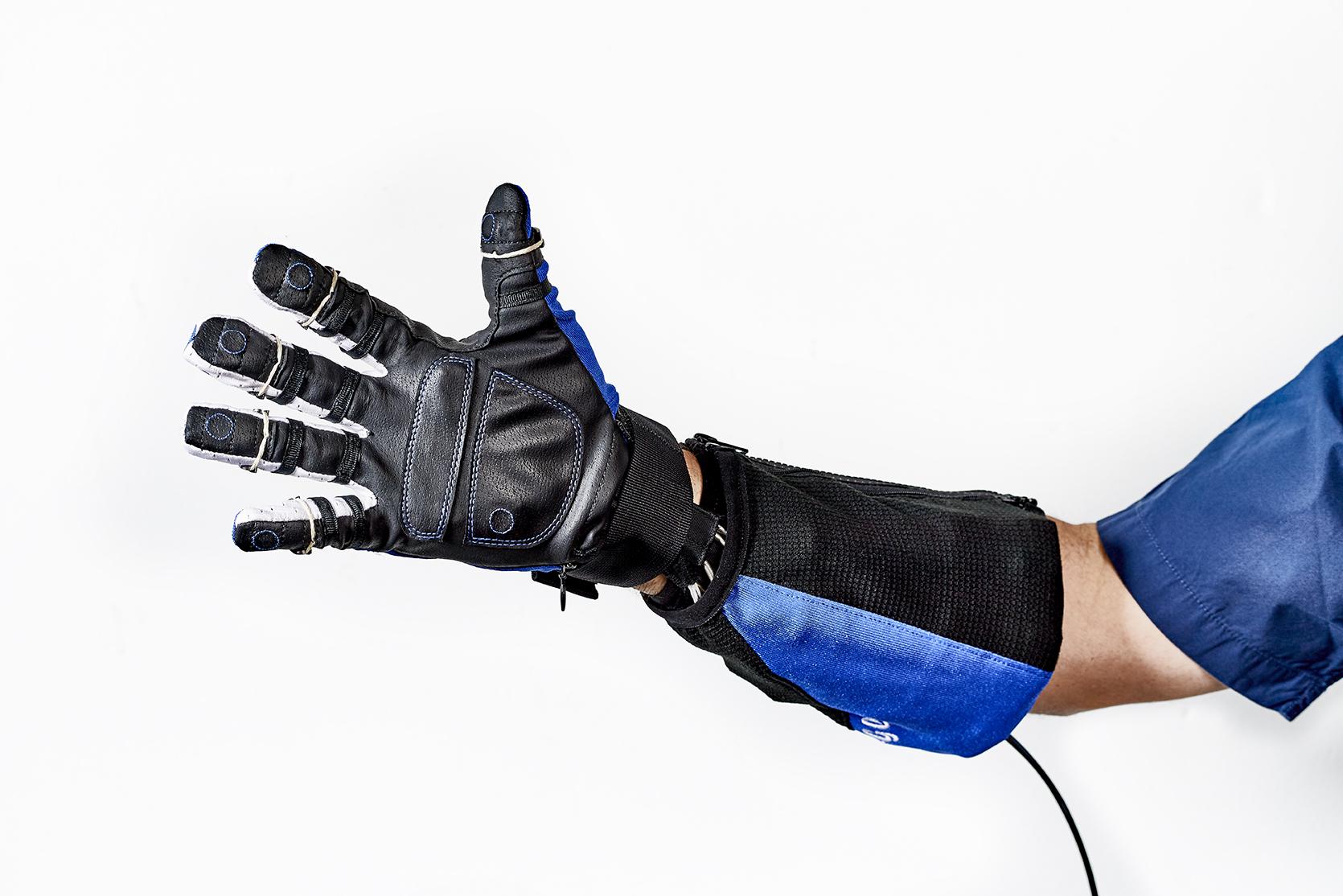 New robotic glove.