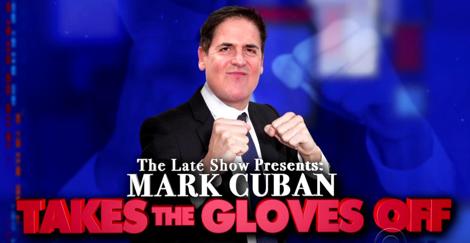 Mark Cuban Stephen Colbert