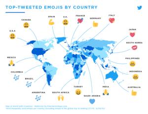 top-tweeted-emojis-map