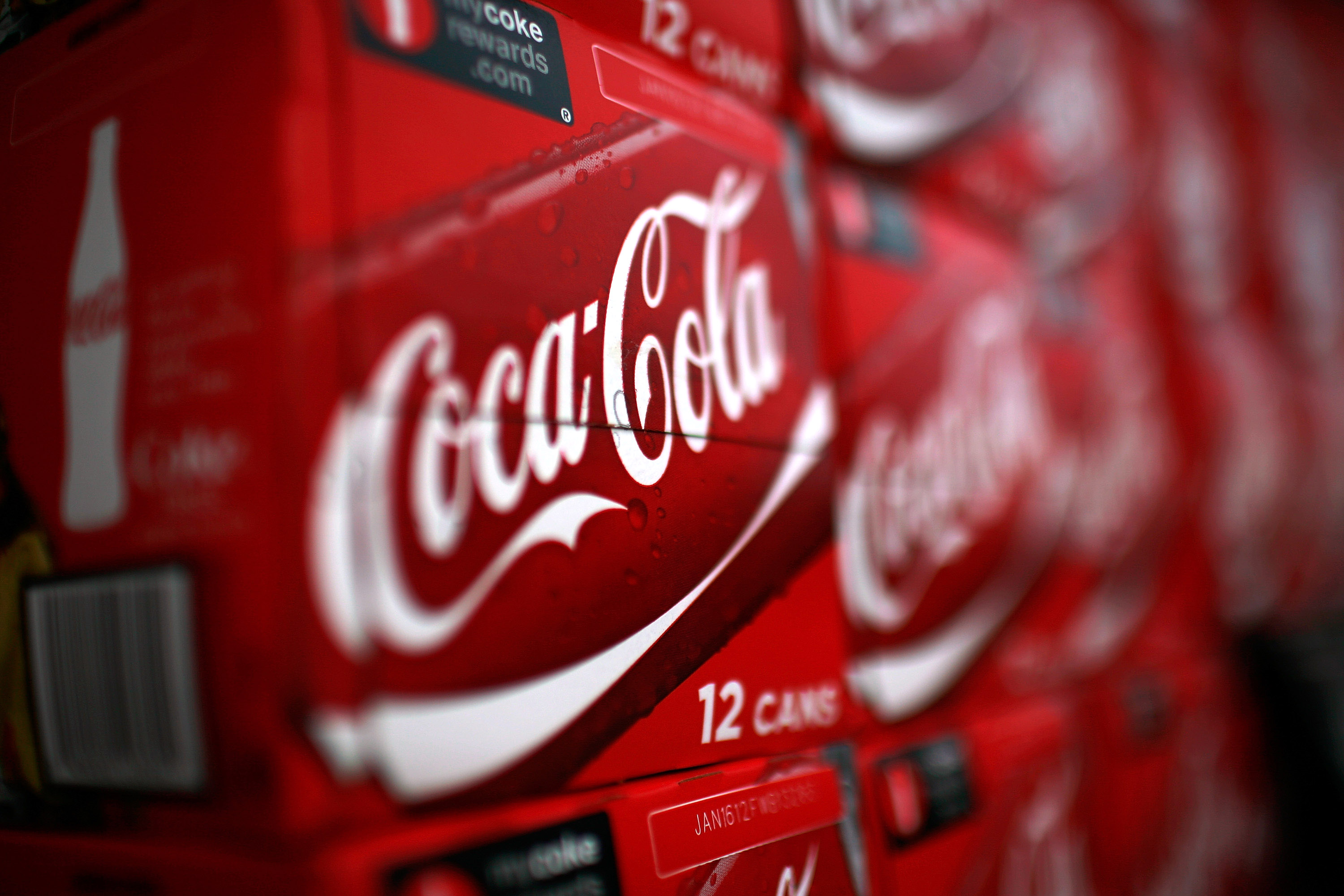 Coca-Cola Co. Prepares To Release Quarterly Earnings Numbers
