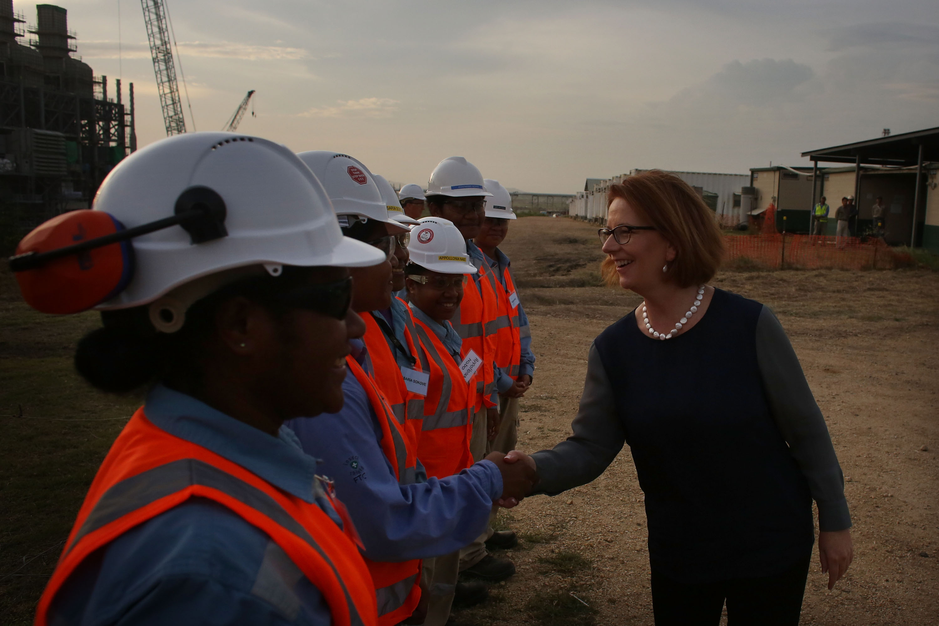 Julia Gillard Visits Papua New Guinea - Day 2