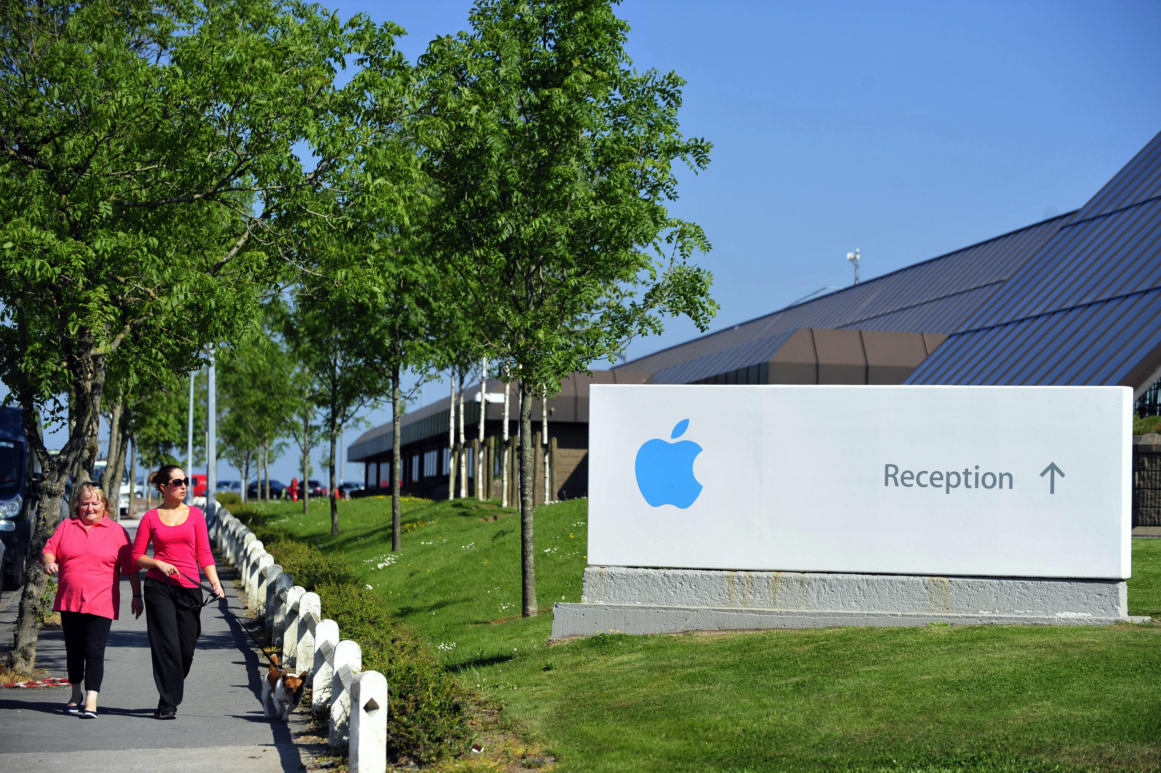 Apple Inc.'s Irish Campus As Tax Debate Continues