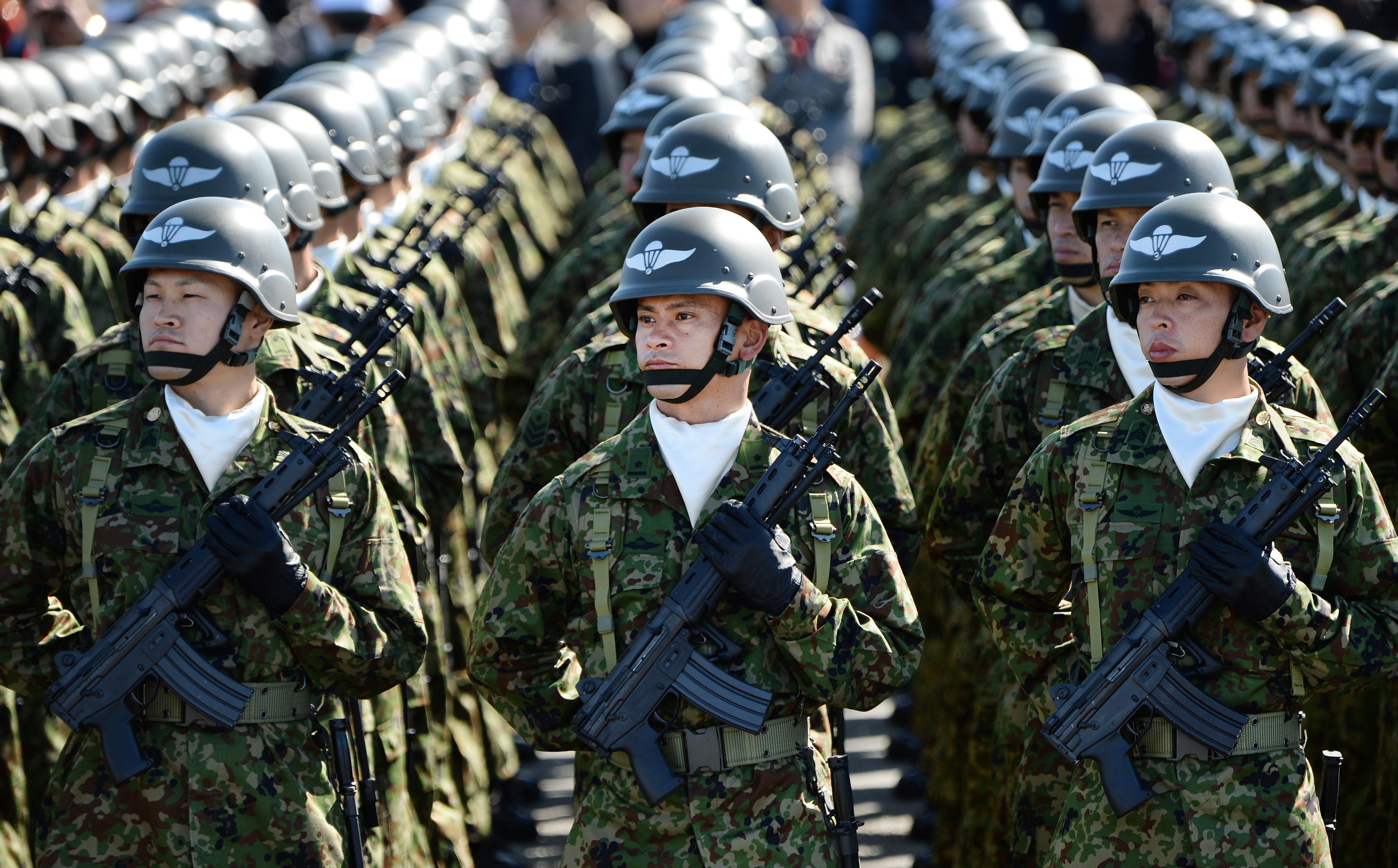 JAPAN-POLITICS-DEFENCE