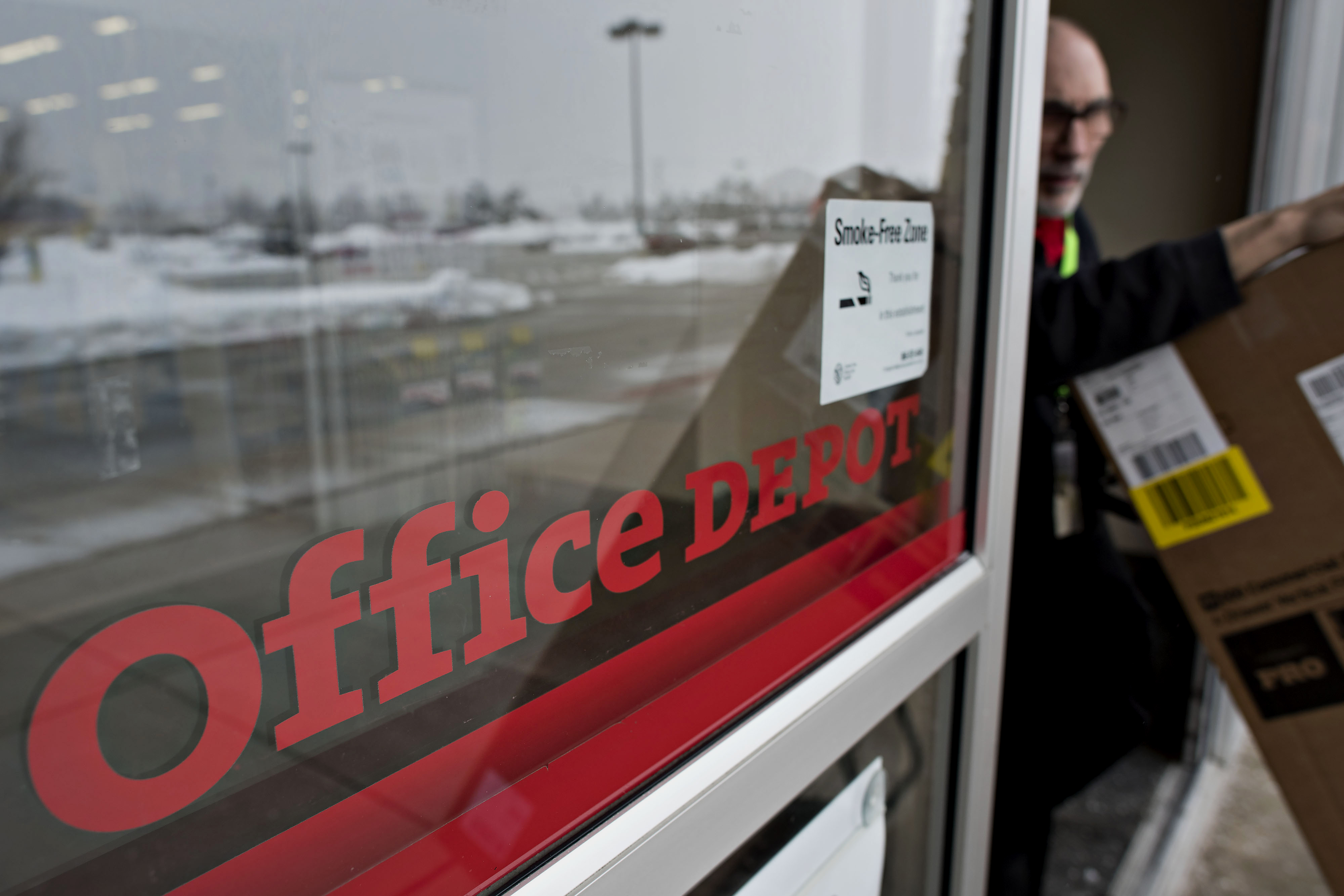 Staples Agrees To Buy Office Depot For About $6.3 Billion