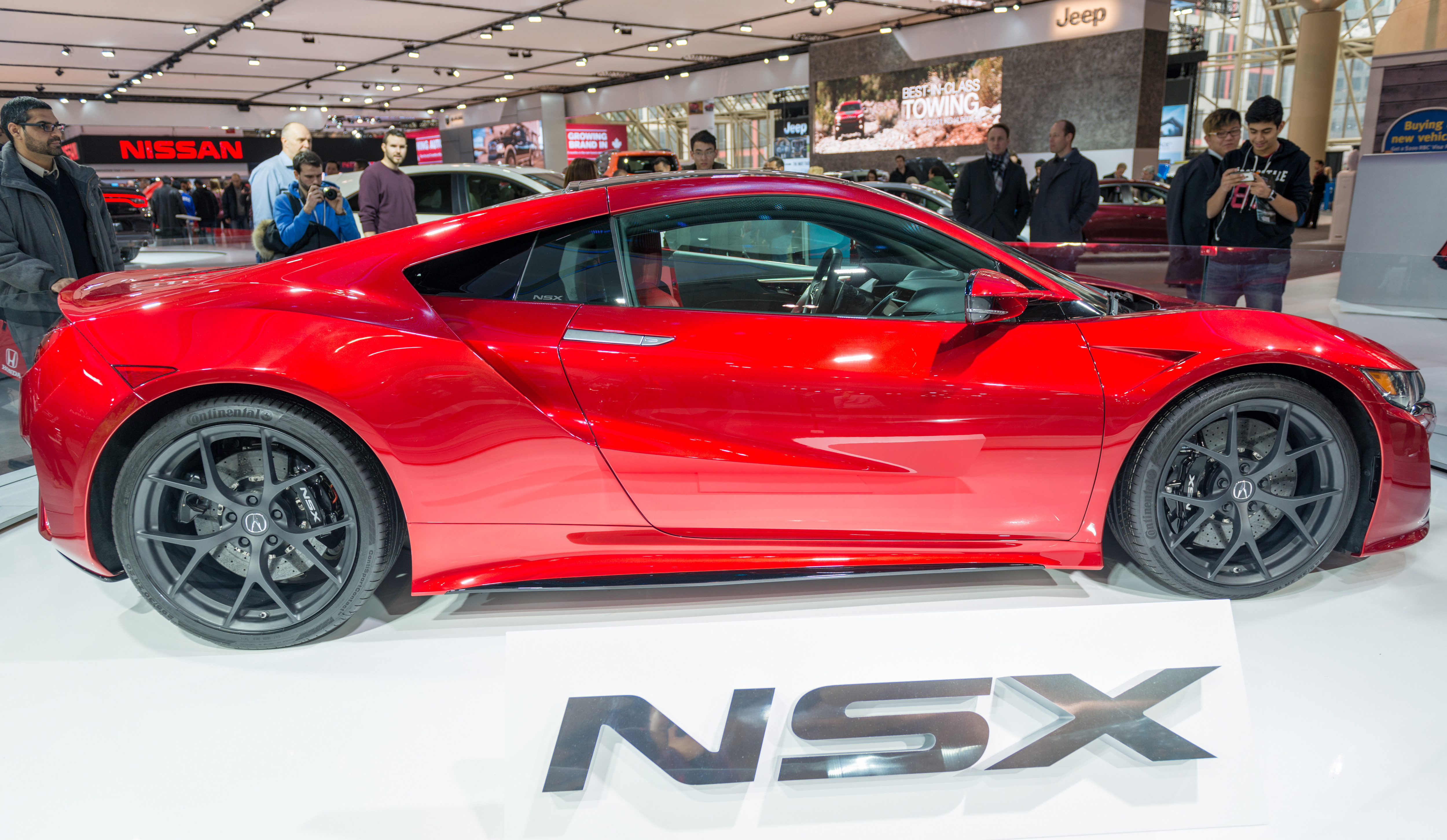 Acura NSX in the Canadian International AutoShow, CIAS for