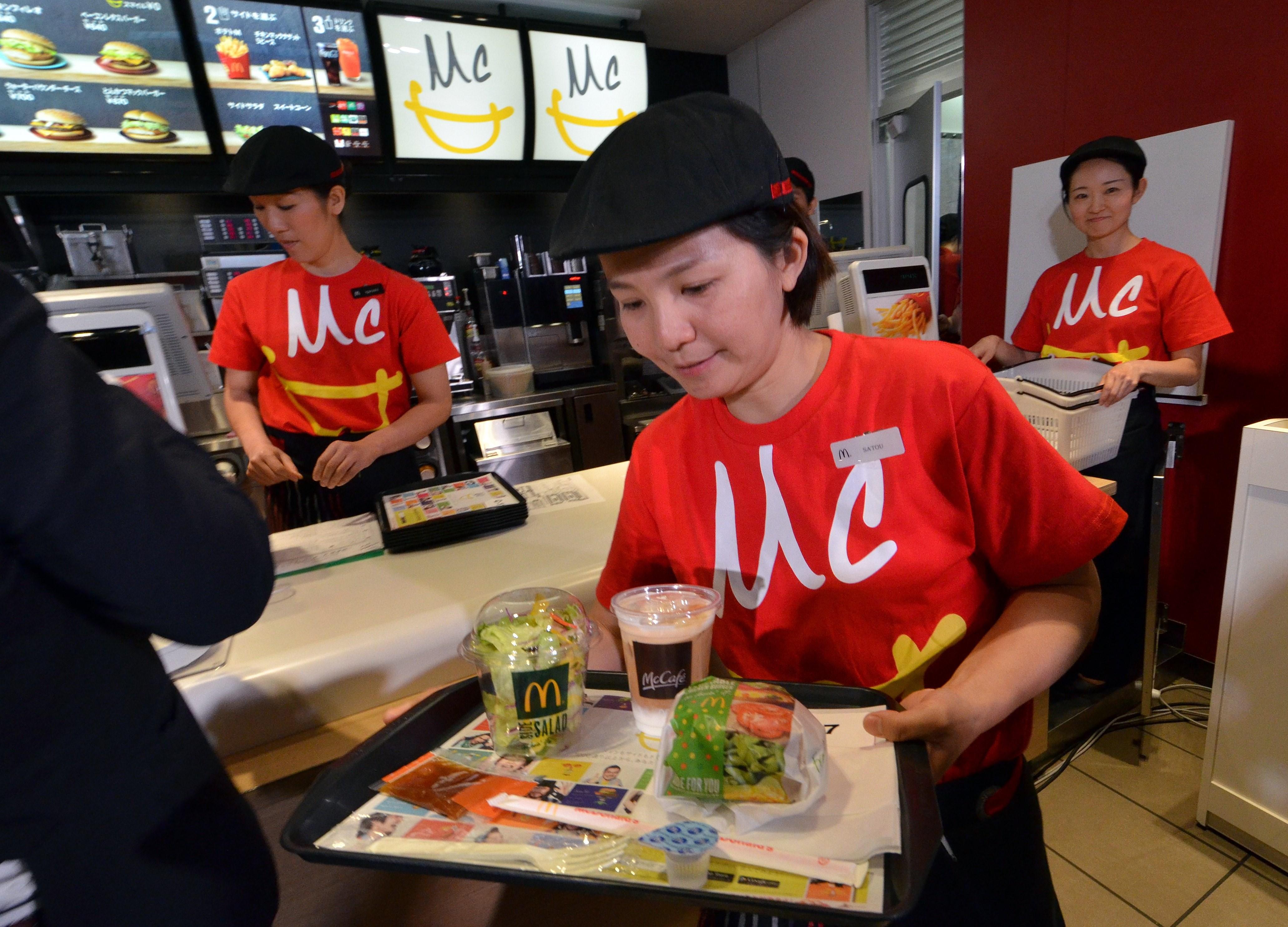 JAPAN-US-FOOD-MCDONALDS