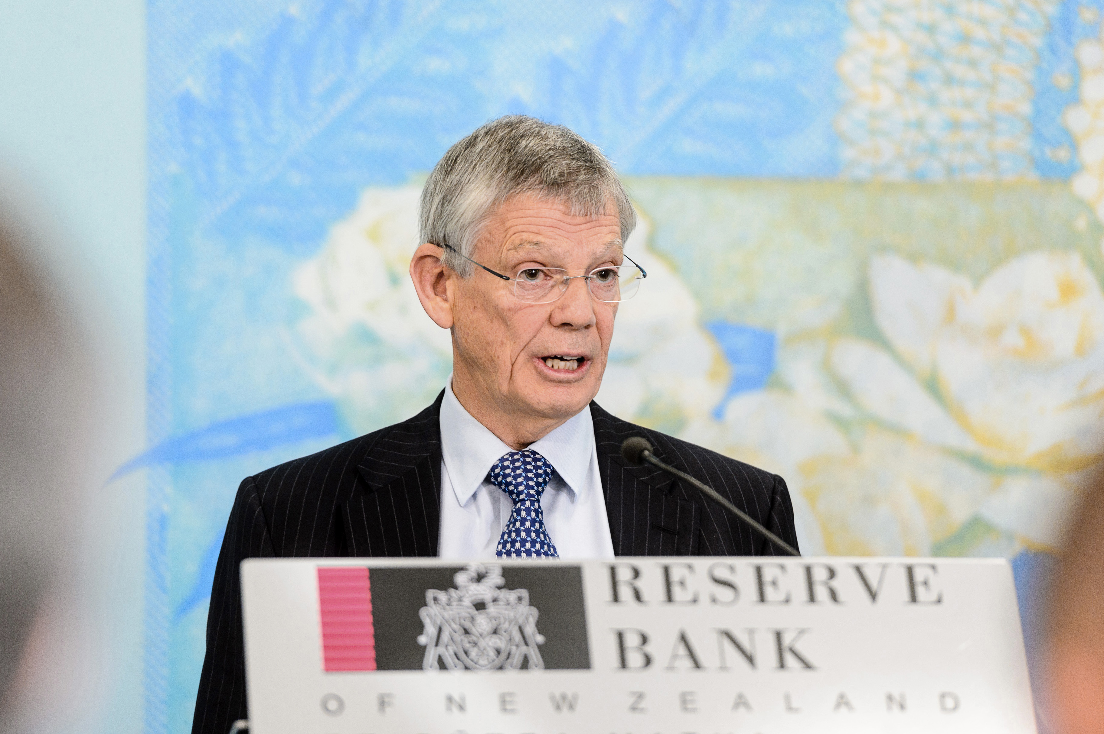 Reserve Bank of New Zealand Governor Graeme Wheeler News Conference