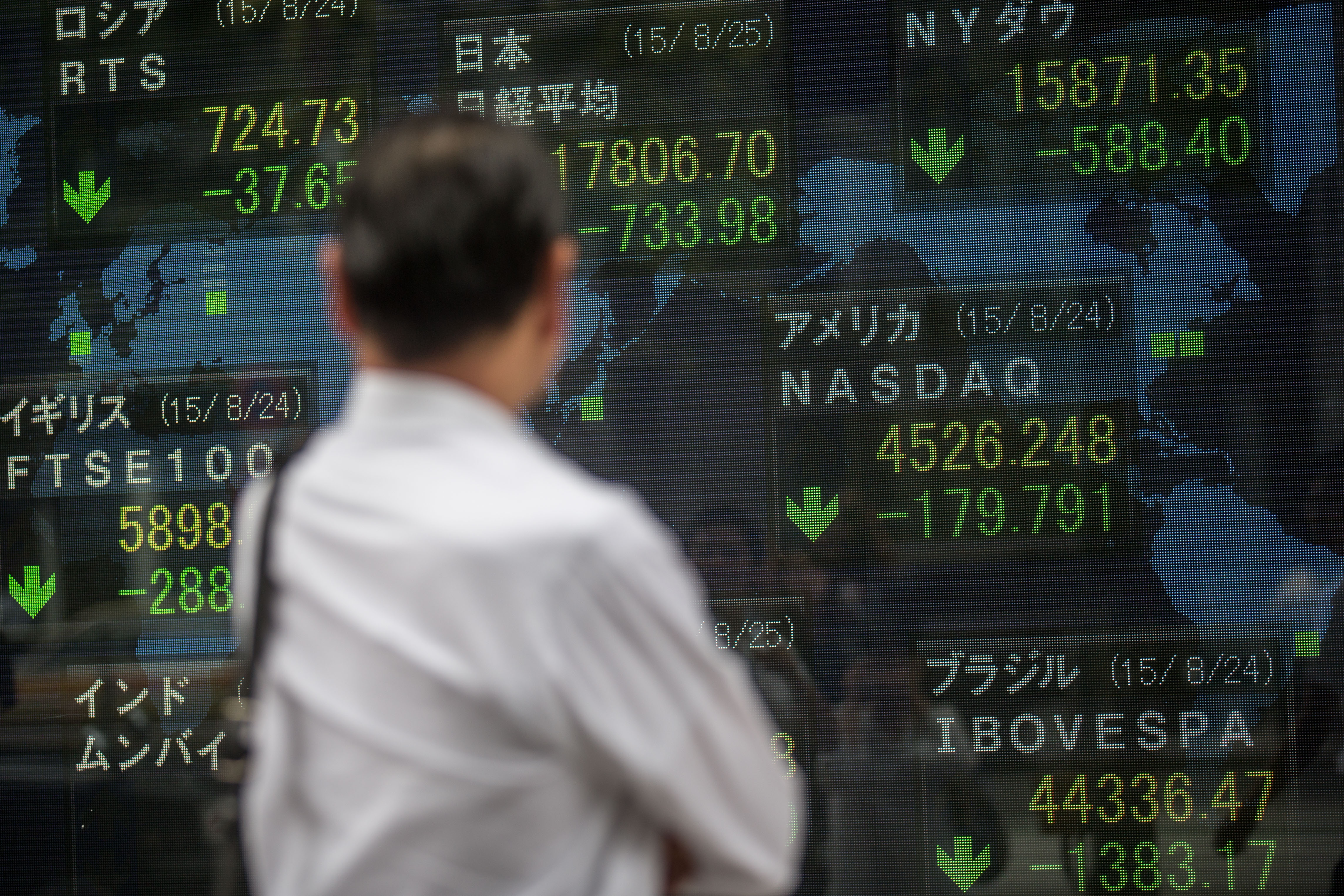 Asian Markets Continue To Fall on Fears Of China Slowdown