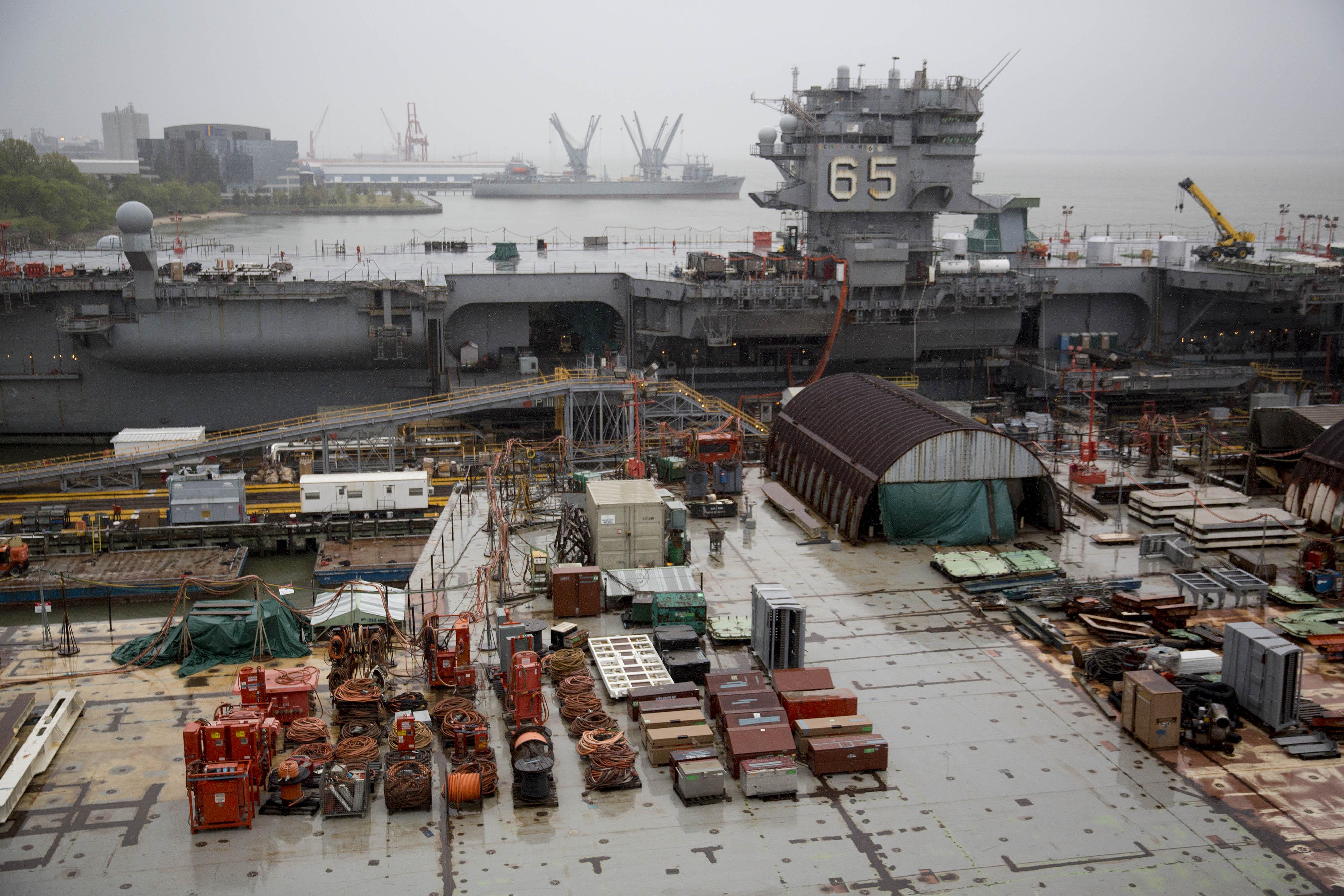 Operations At Newport News Shipbuilding Ahead Of Huntington Ingalls Earnings