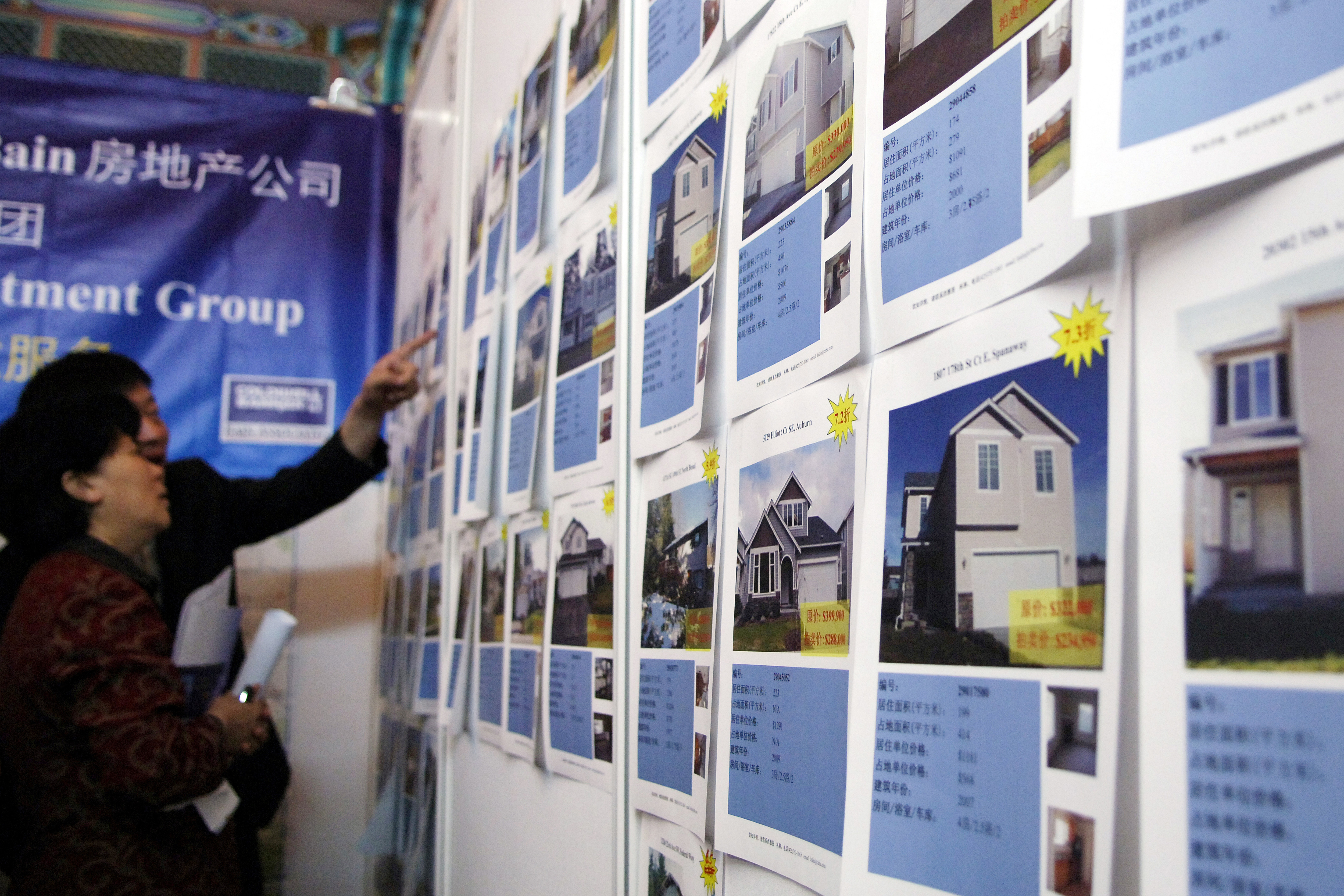Houses for sale at the 2009 US-China Real Estate summit &