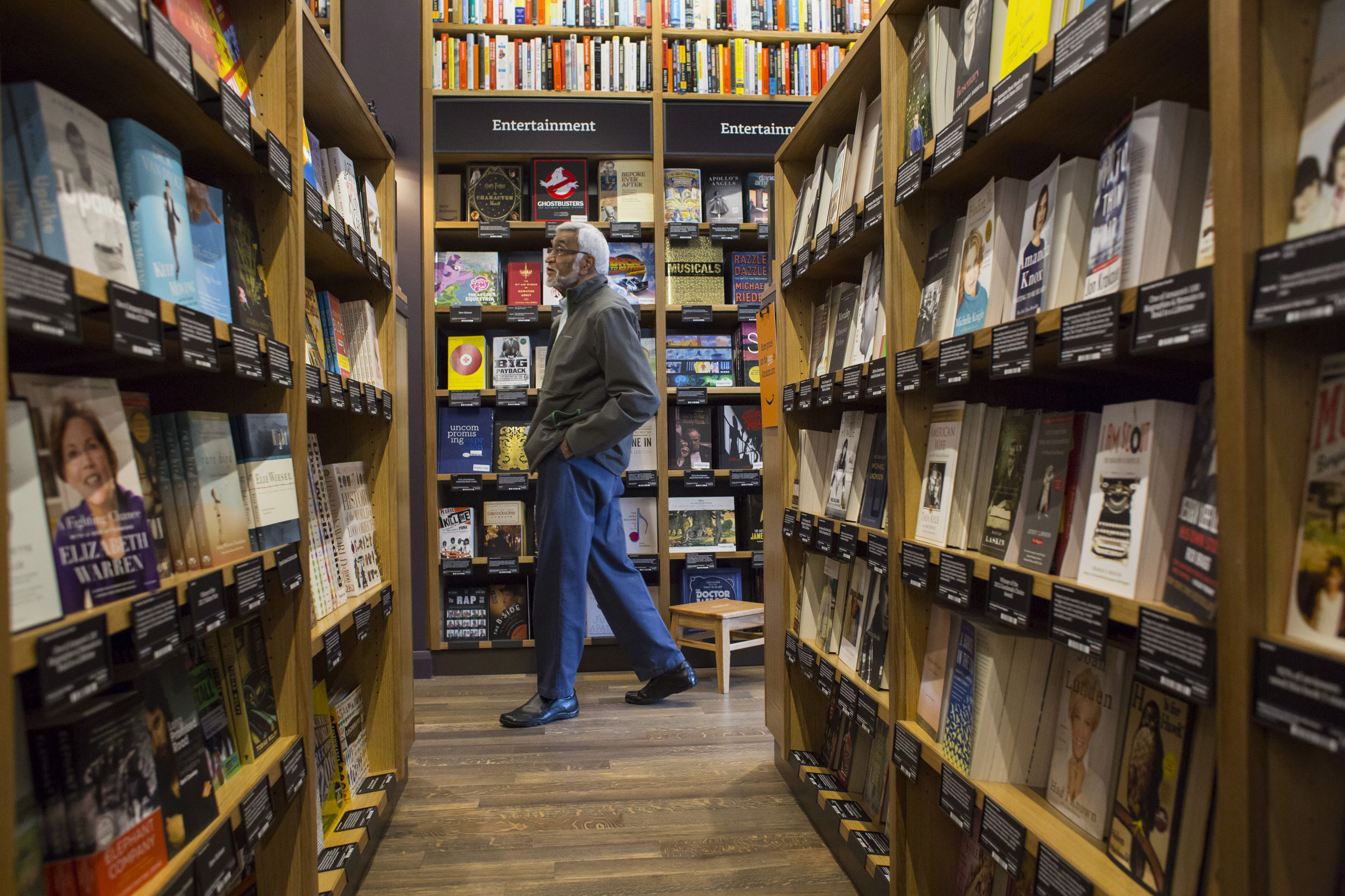 Inside The First Amazon.com Inc. Brick And Mortar Bookstore