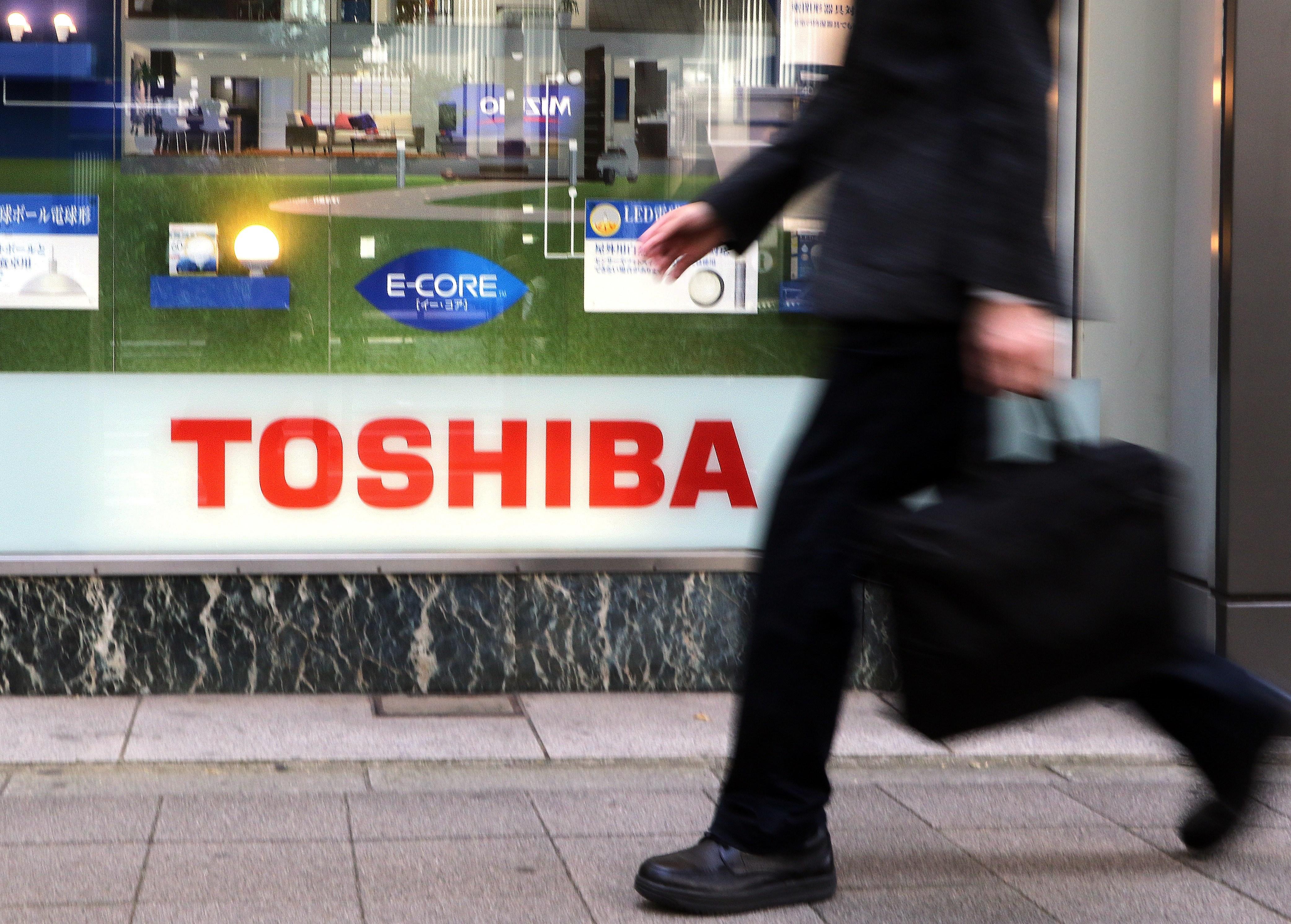 JAPAN-ELECTRONICS-TOSHIBA-EARNINGS