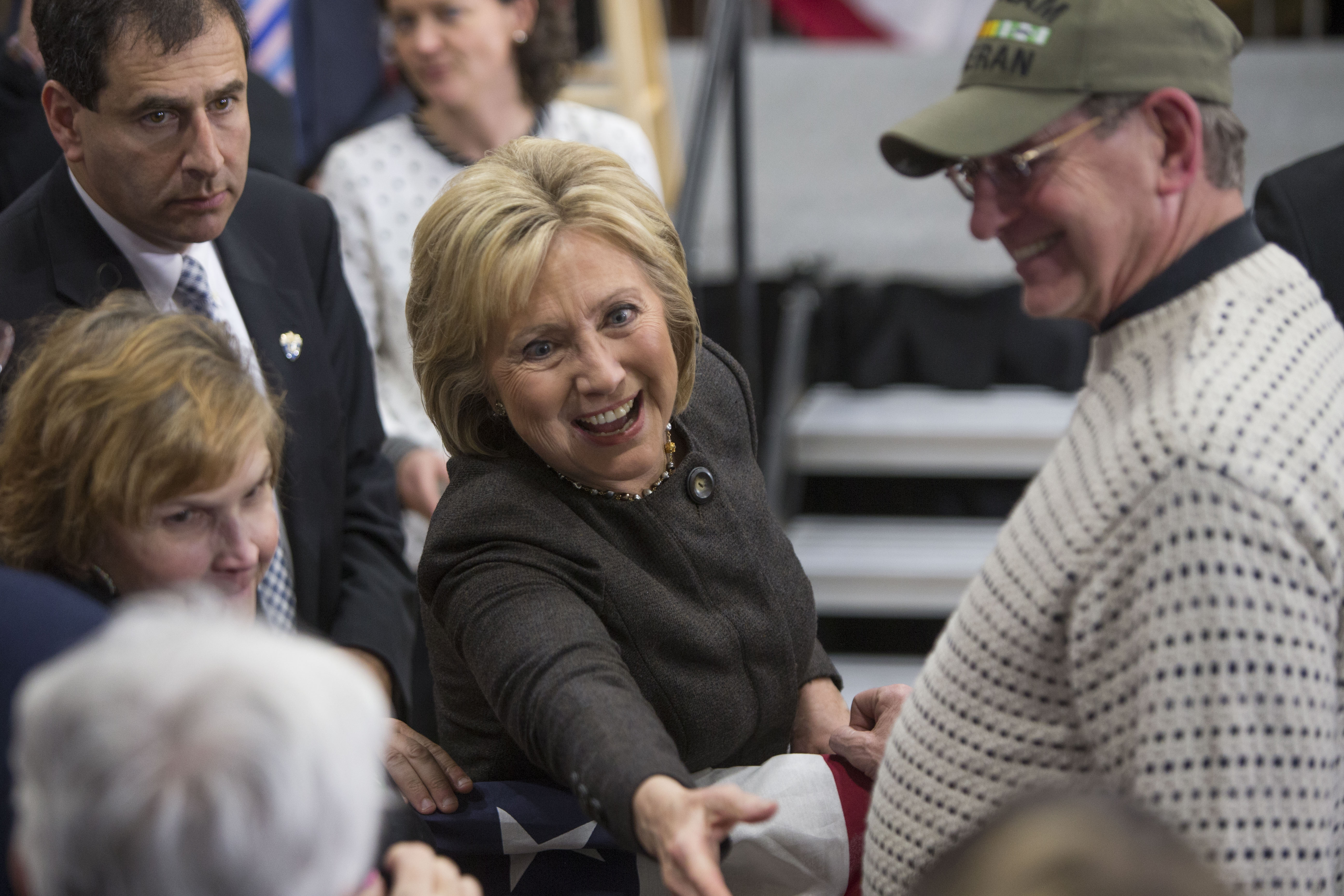 Presidential Candidate Hillary Clinton Holds Campaign Event