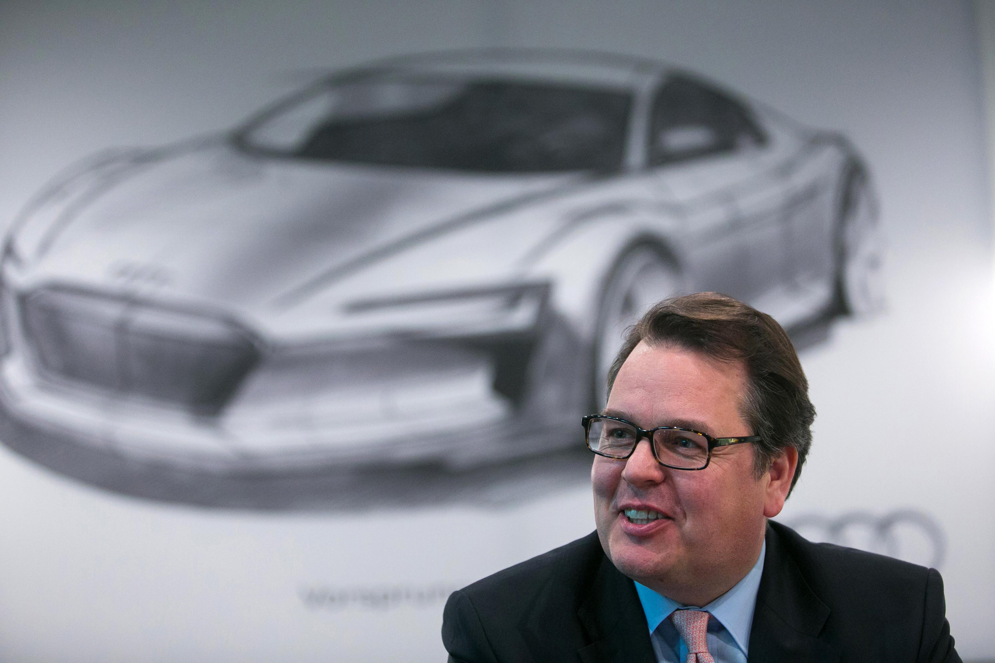 Audi AG Sales Chief Dietmar Voggenreiter Interview