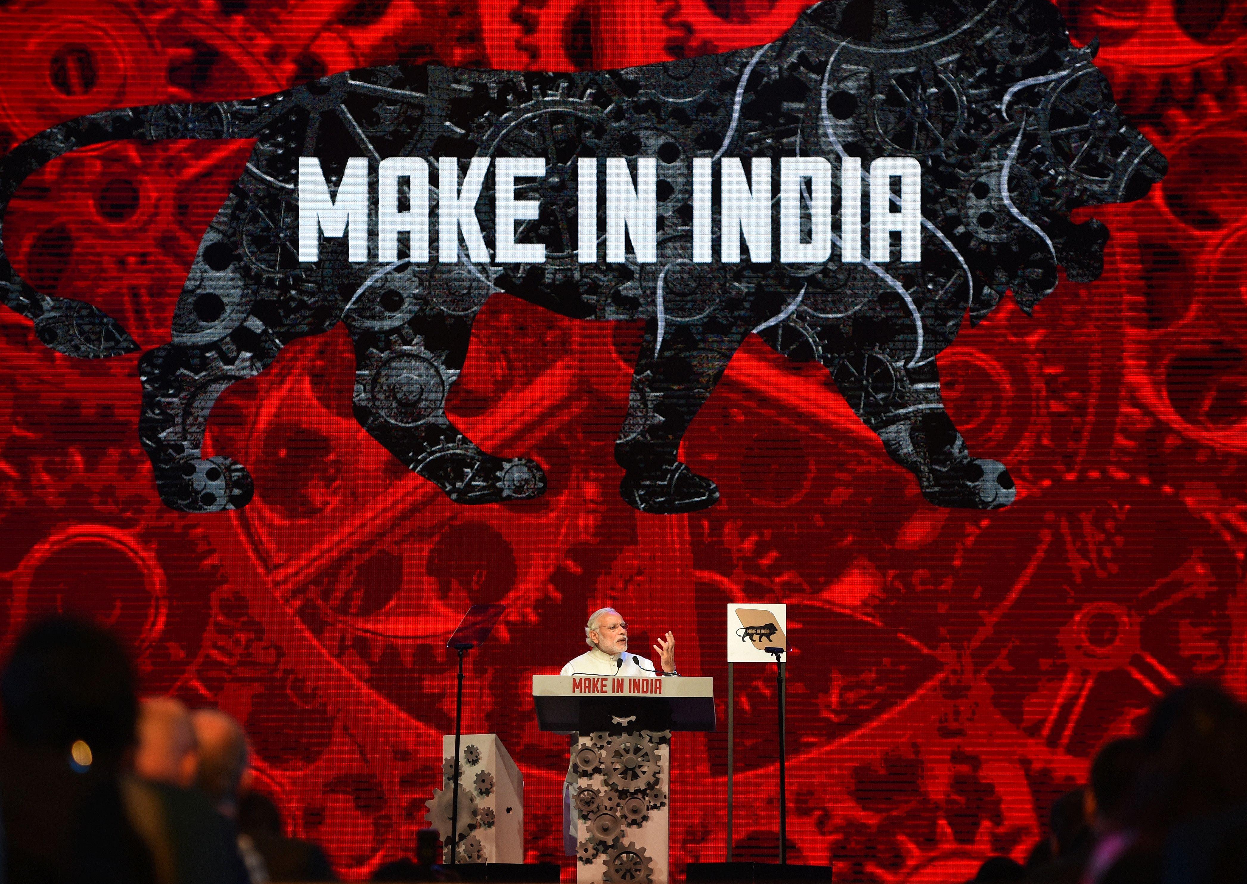 INDIA-POLITICS-ECONOMY-INDUSTRY
