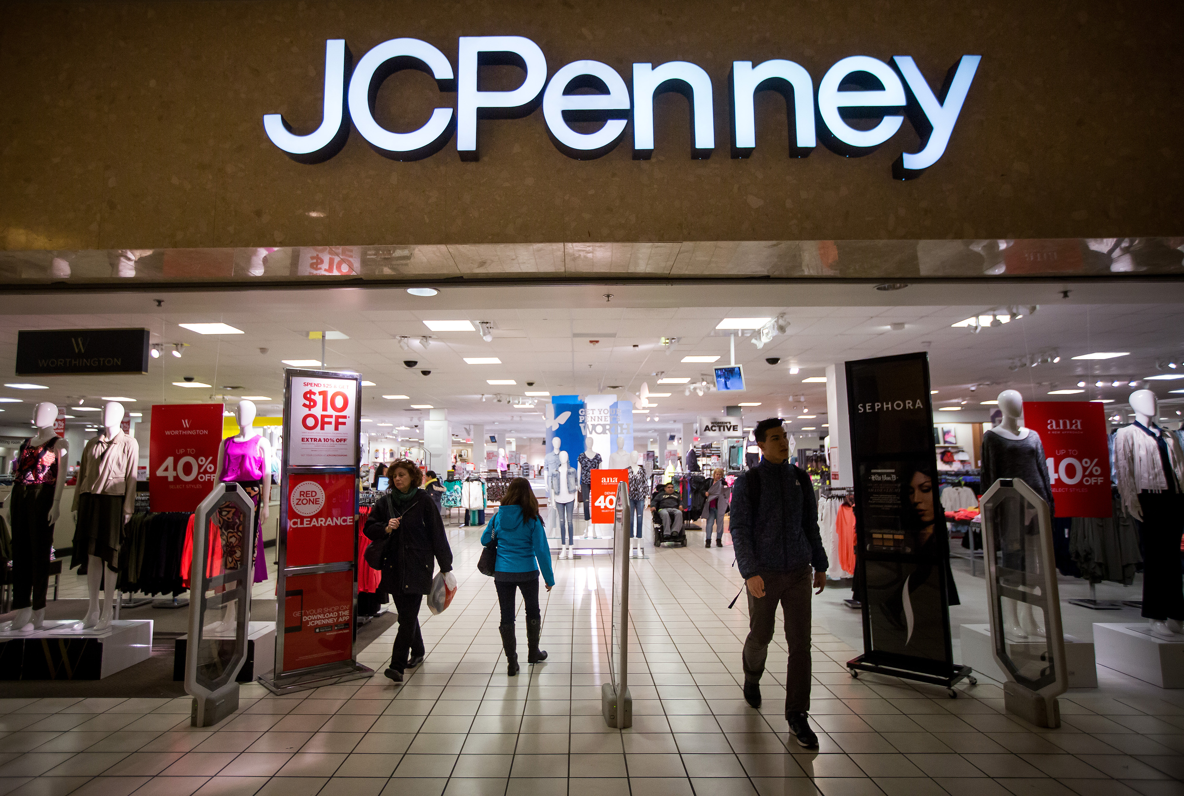 J C  Penney Is Trying Out Store Greeters Like Walmart's
