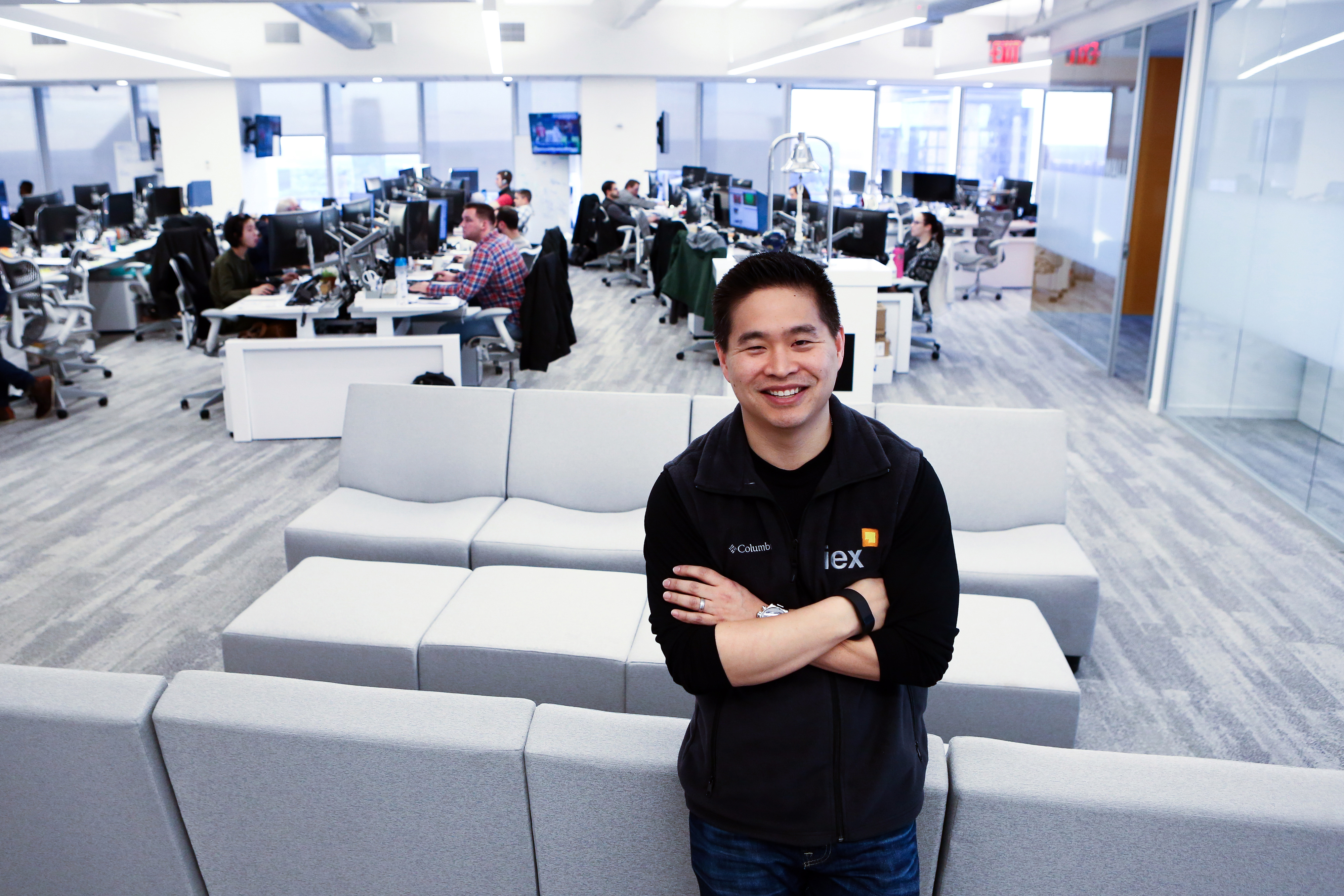 Inside The IEX Group Inc. Office As Their Exchange Application Faces Delay