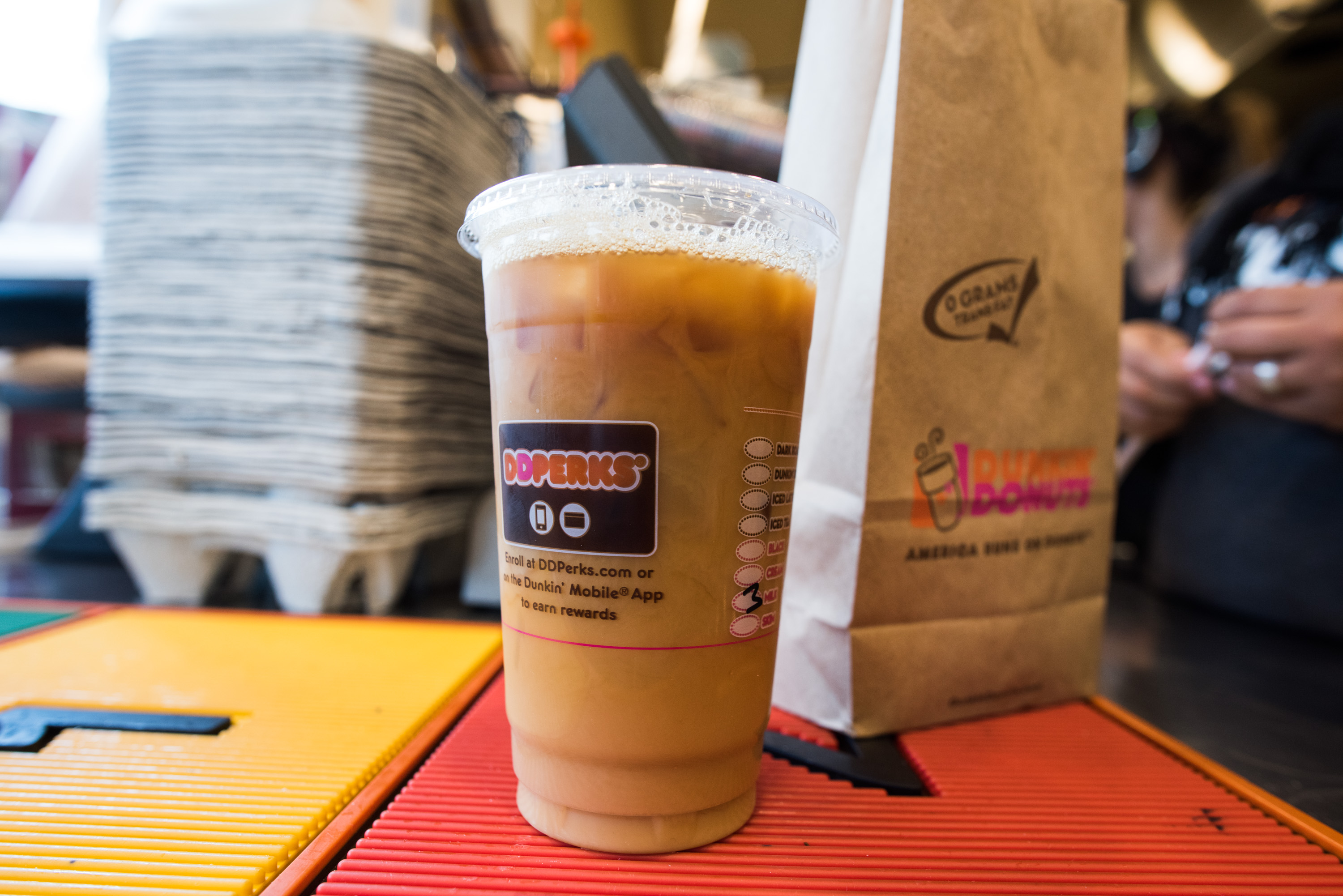 Dunkin' Donuts says its cold brew is doing better than expected.