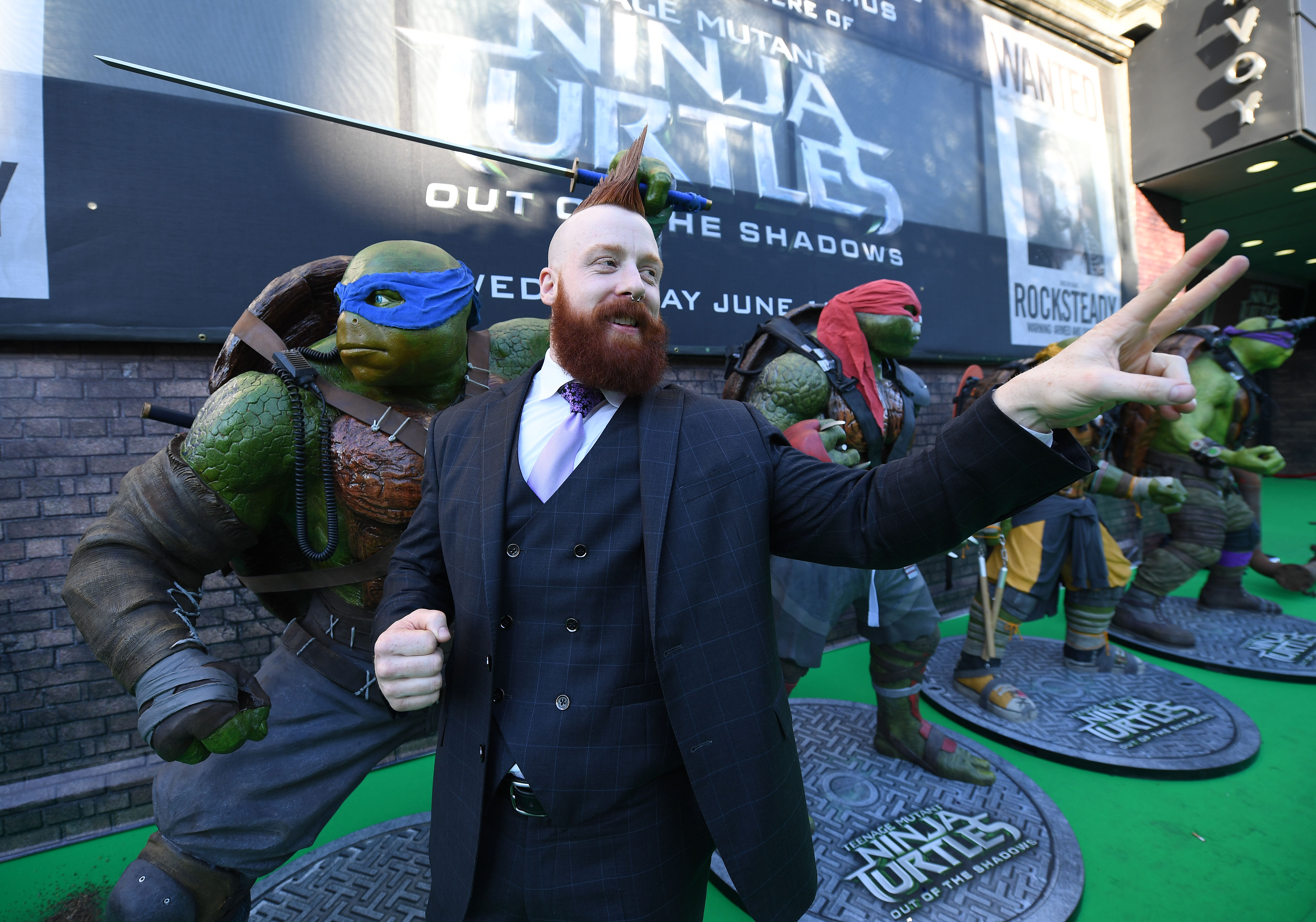 Teenage Mutant Ninja Turtles: Out Of The Shadows Dublin Premiere